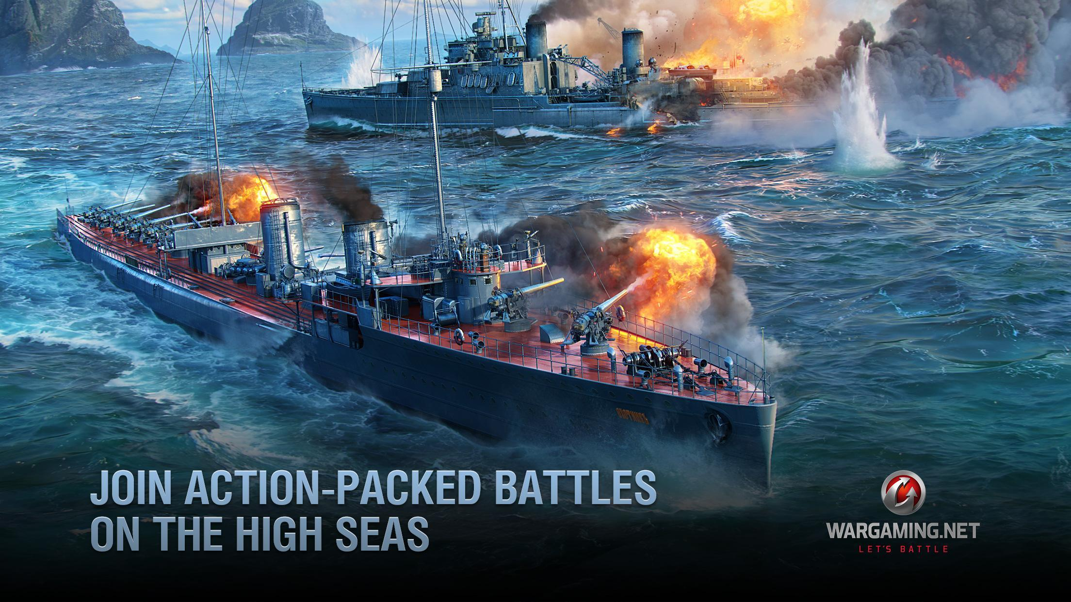 World of Warships Blitz: Gunship Action War Game 3.3.0 Screenshot 2