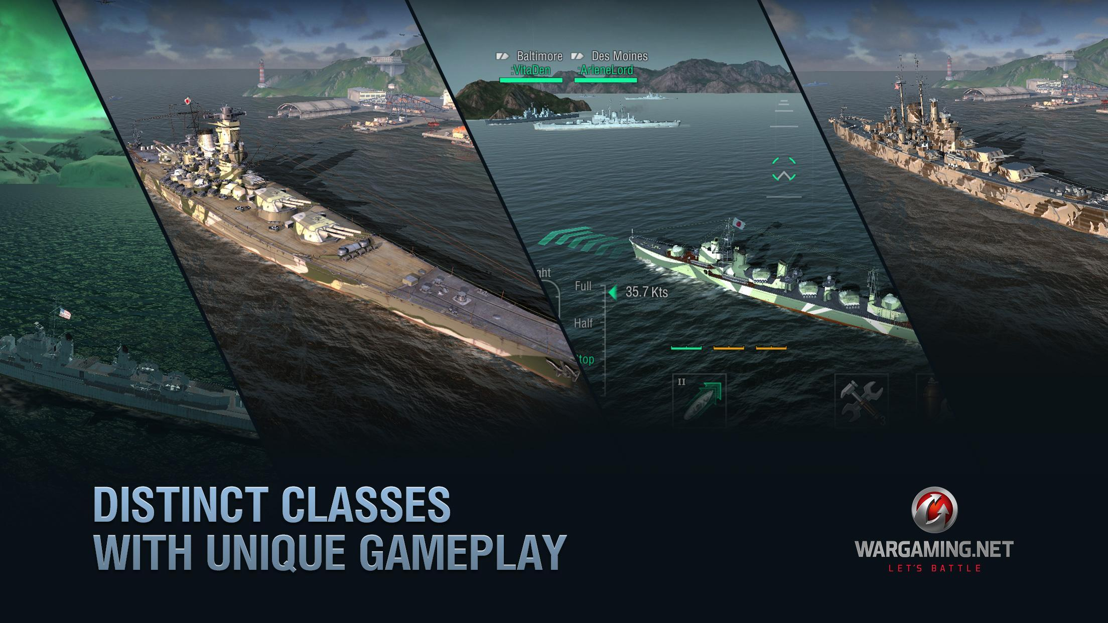 World of Warships Blitz: Gunship Action War Game 3.3.0 Screenshot 3
