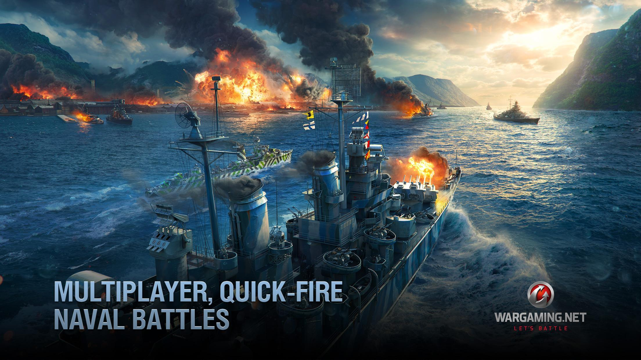 World of Warships Blitz: Gunship Action War Game 3.3.0 Screenshot 4