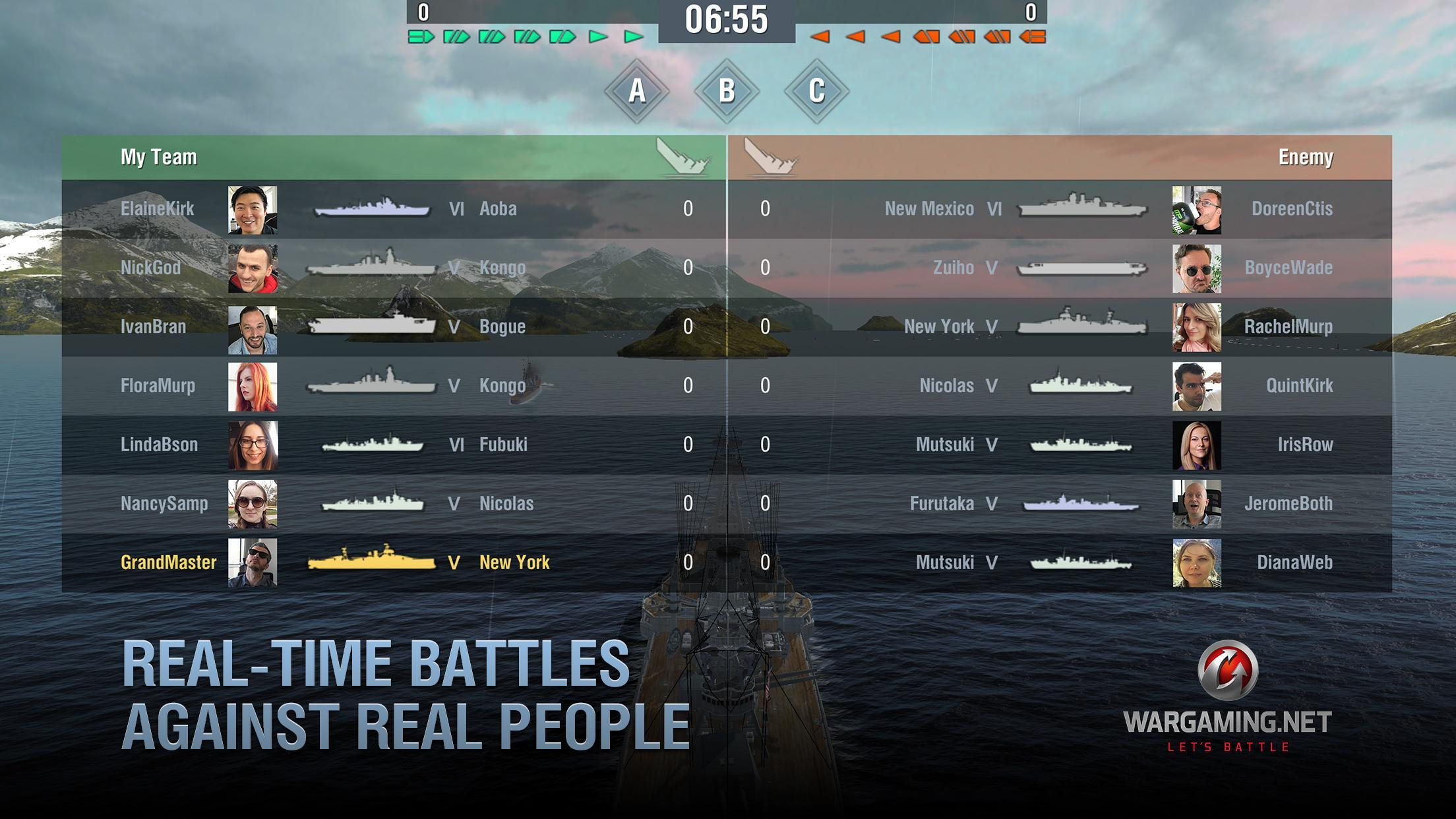 World of Warships Blitz: Gunship Action War Game 3.3.0 Screenshot 5