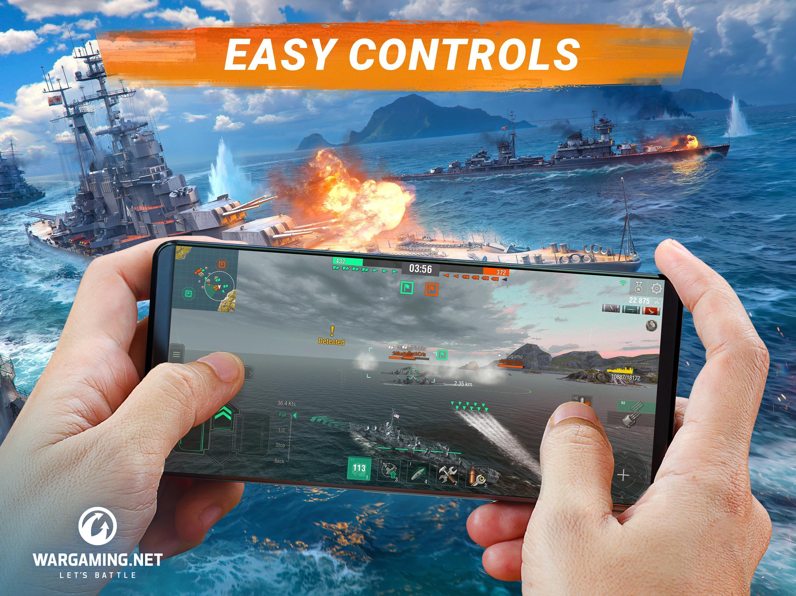 World of Warships Blitz: Gunship Action War Game 3.3.0 Screenshot 7