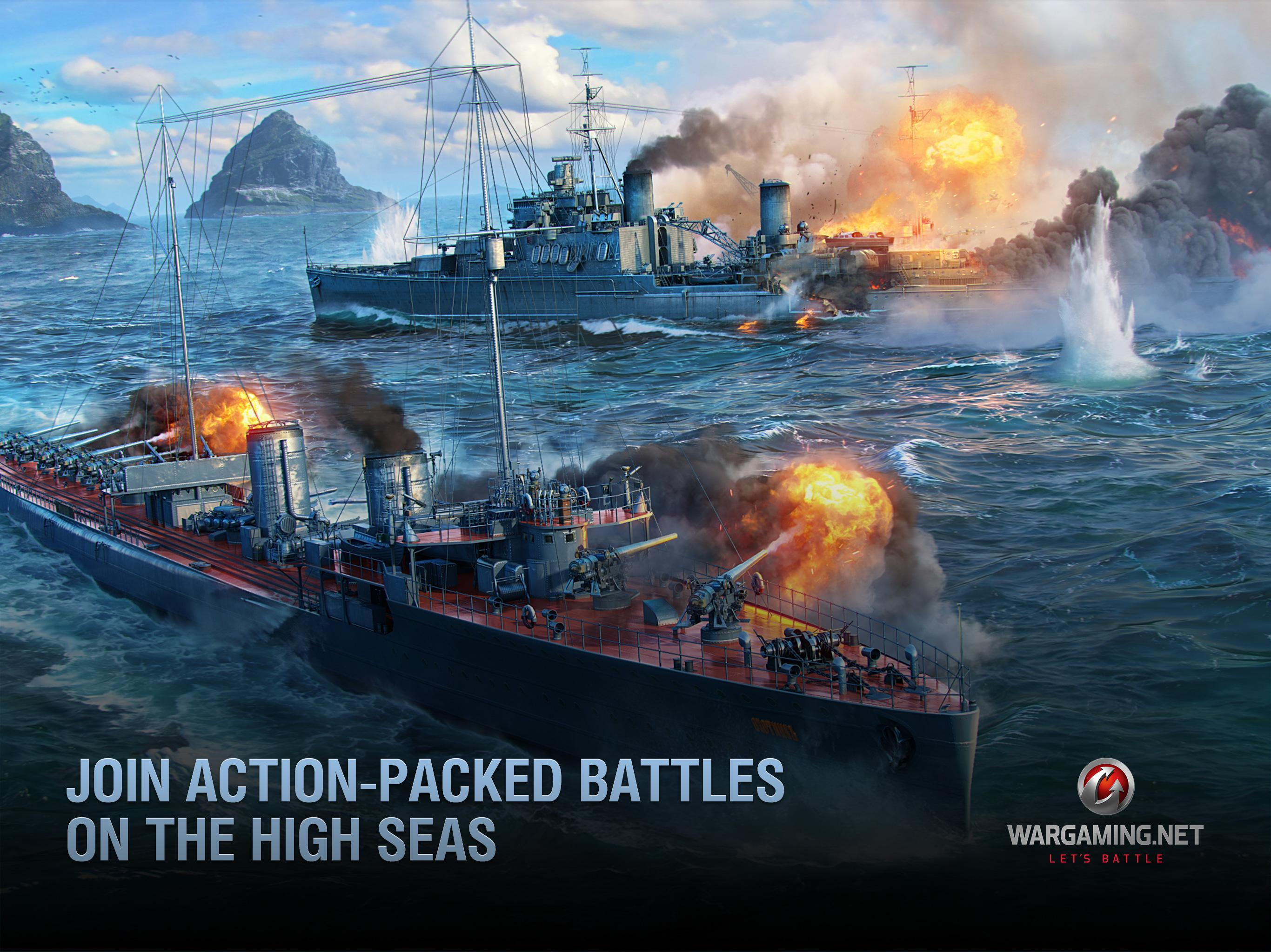World of Warships Blitz: Gunship Action War Game 3.3.0 Screenshot 8