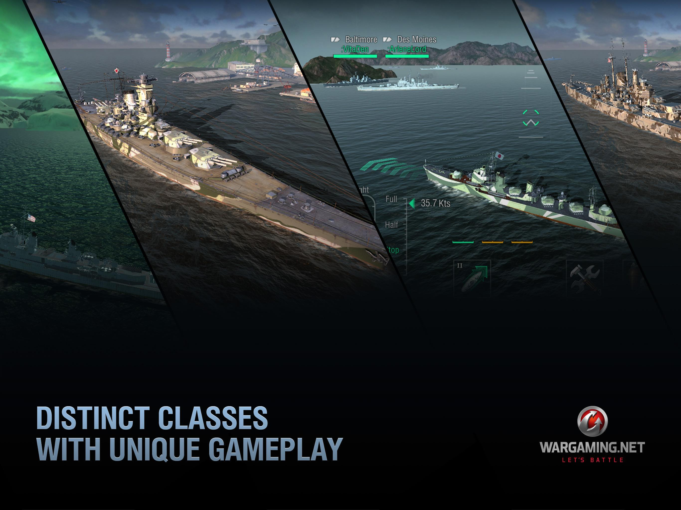 World of Warships Blitz: Gunship Action War Game 3.3.0 Screenshot 9