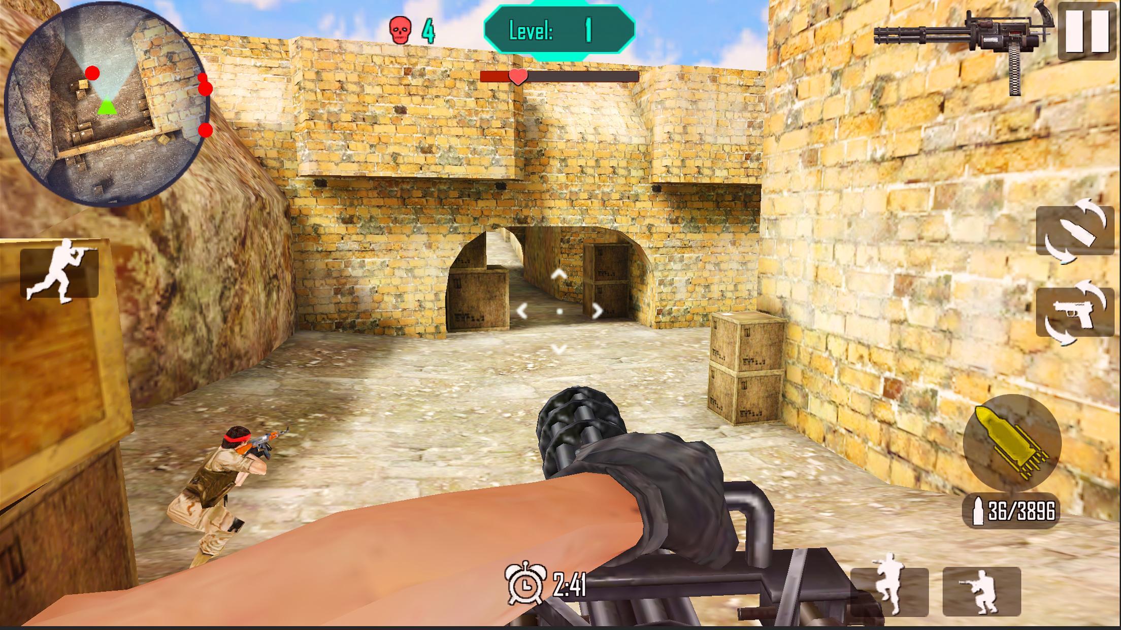 Gun Shoot War 6.9 Screenshot 1