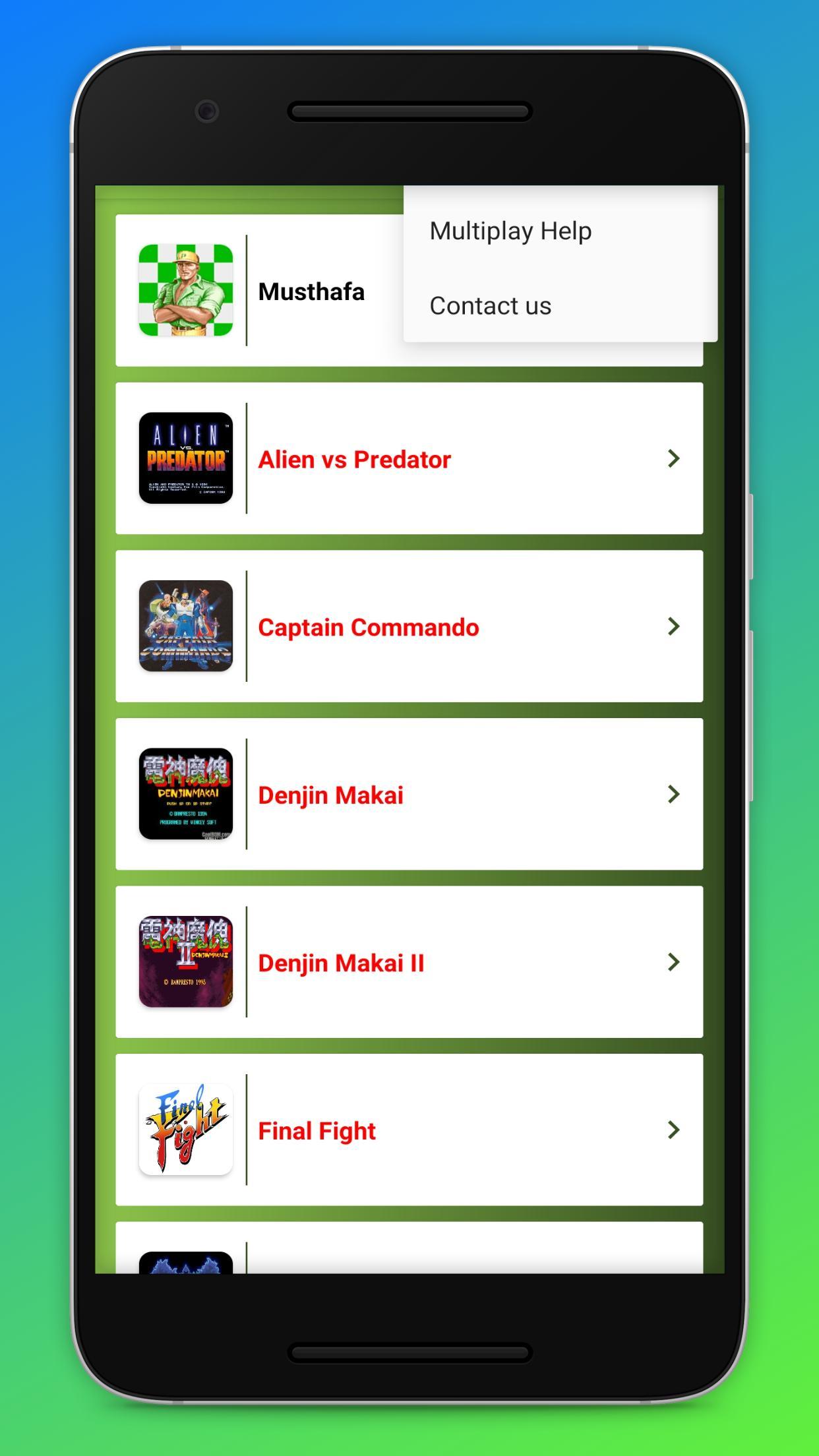 Classic Games Arcade Emulator 2025 Screenshot 4