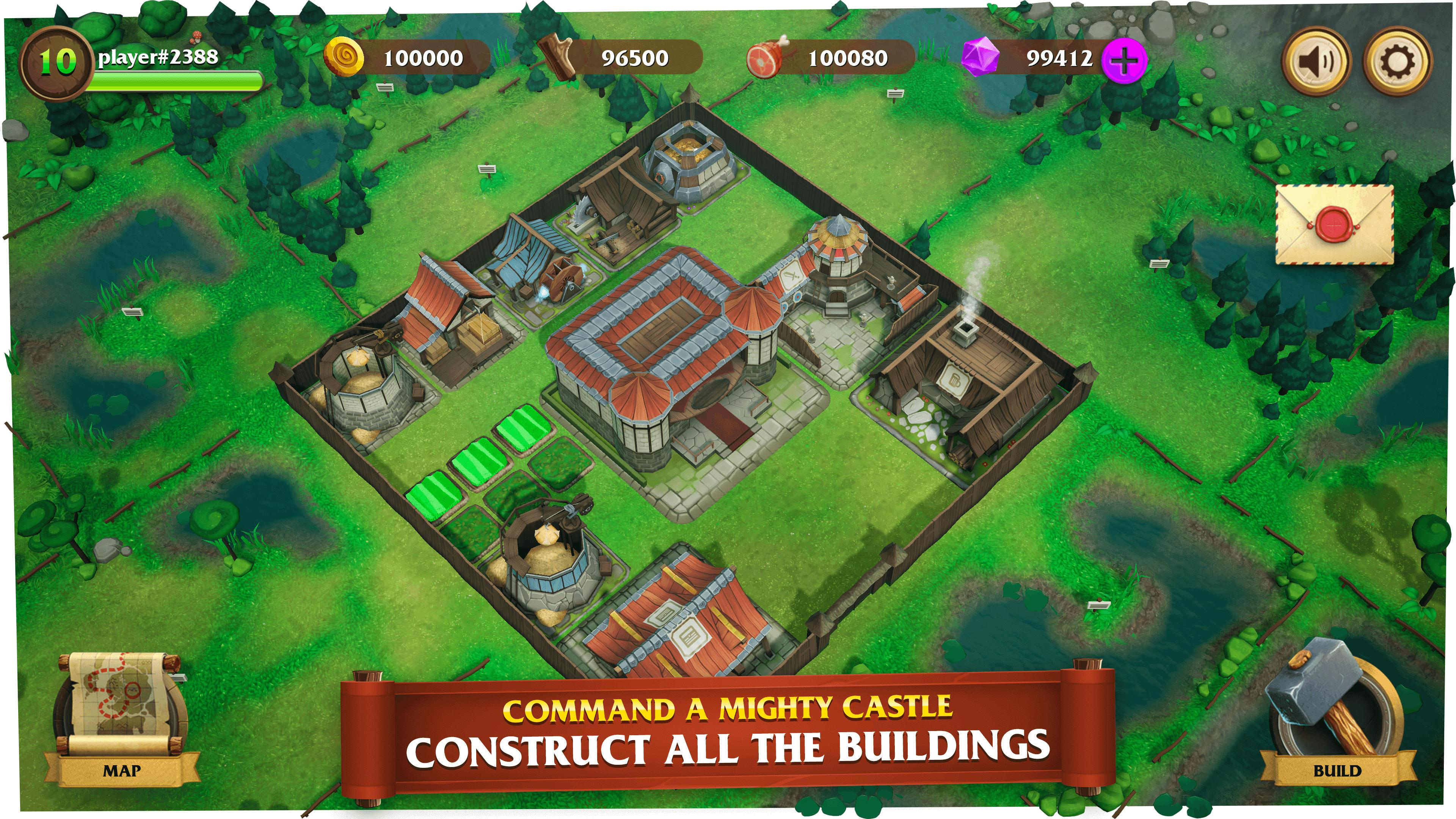 Castle Heroes Build, Collect & Epic Fights 1.2.02 Screenshot 1