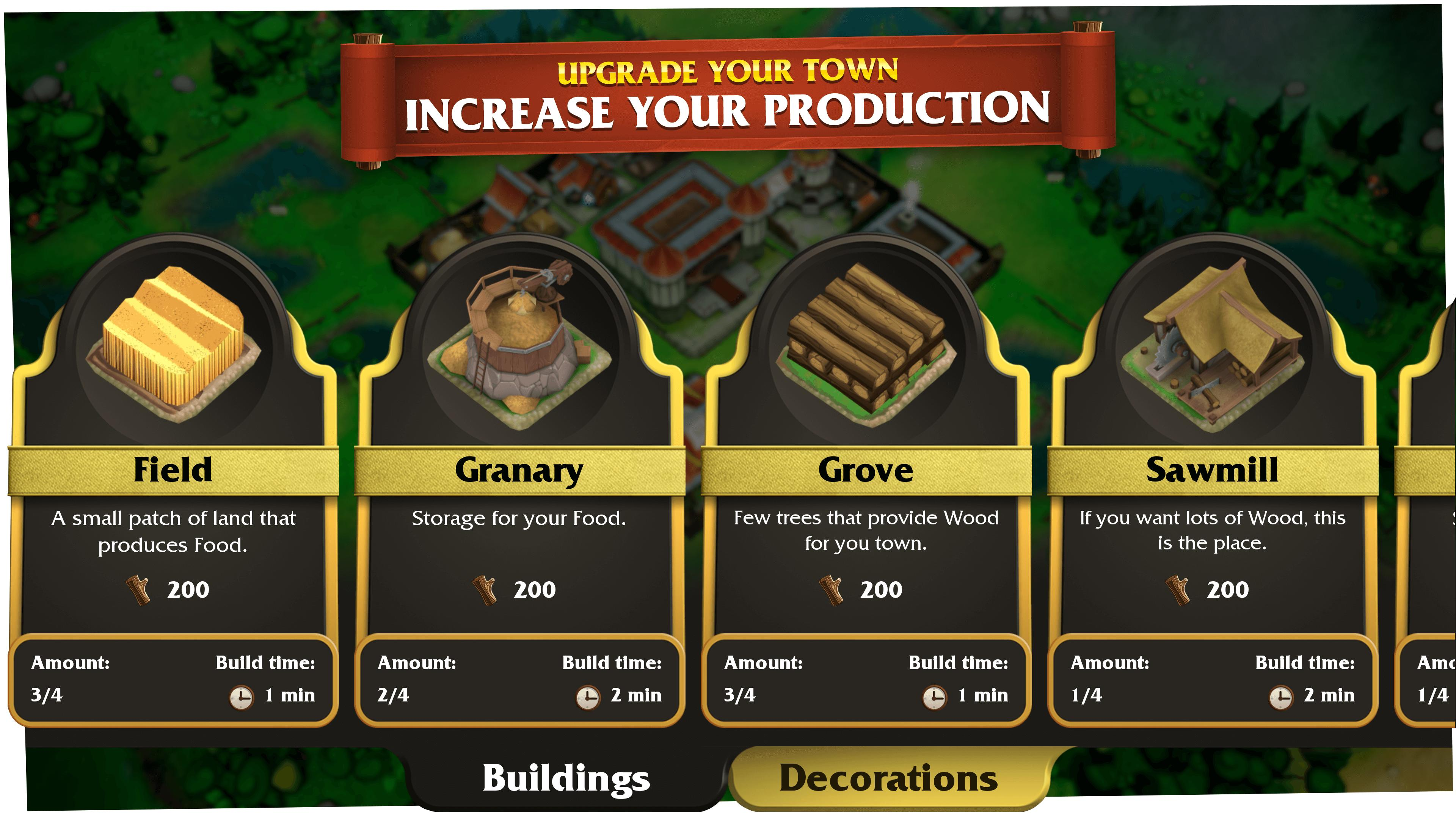 Castle Heroes Build, Collect & Epic Fights 1.2.02 Screenshot 2