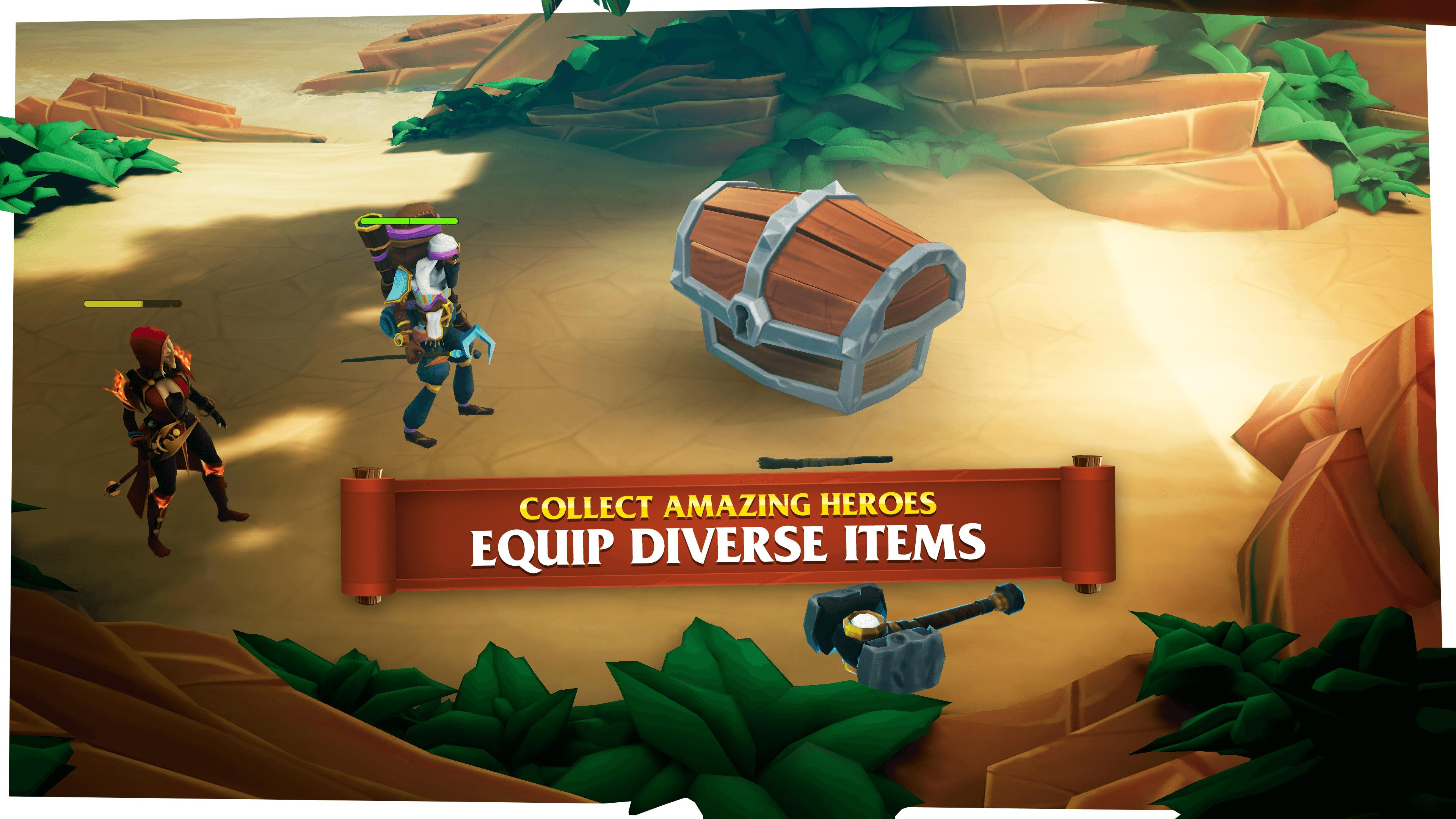 Castle Heroes Build, Collect & Epic Fights 1.2.02 Screenshot 5