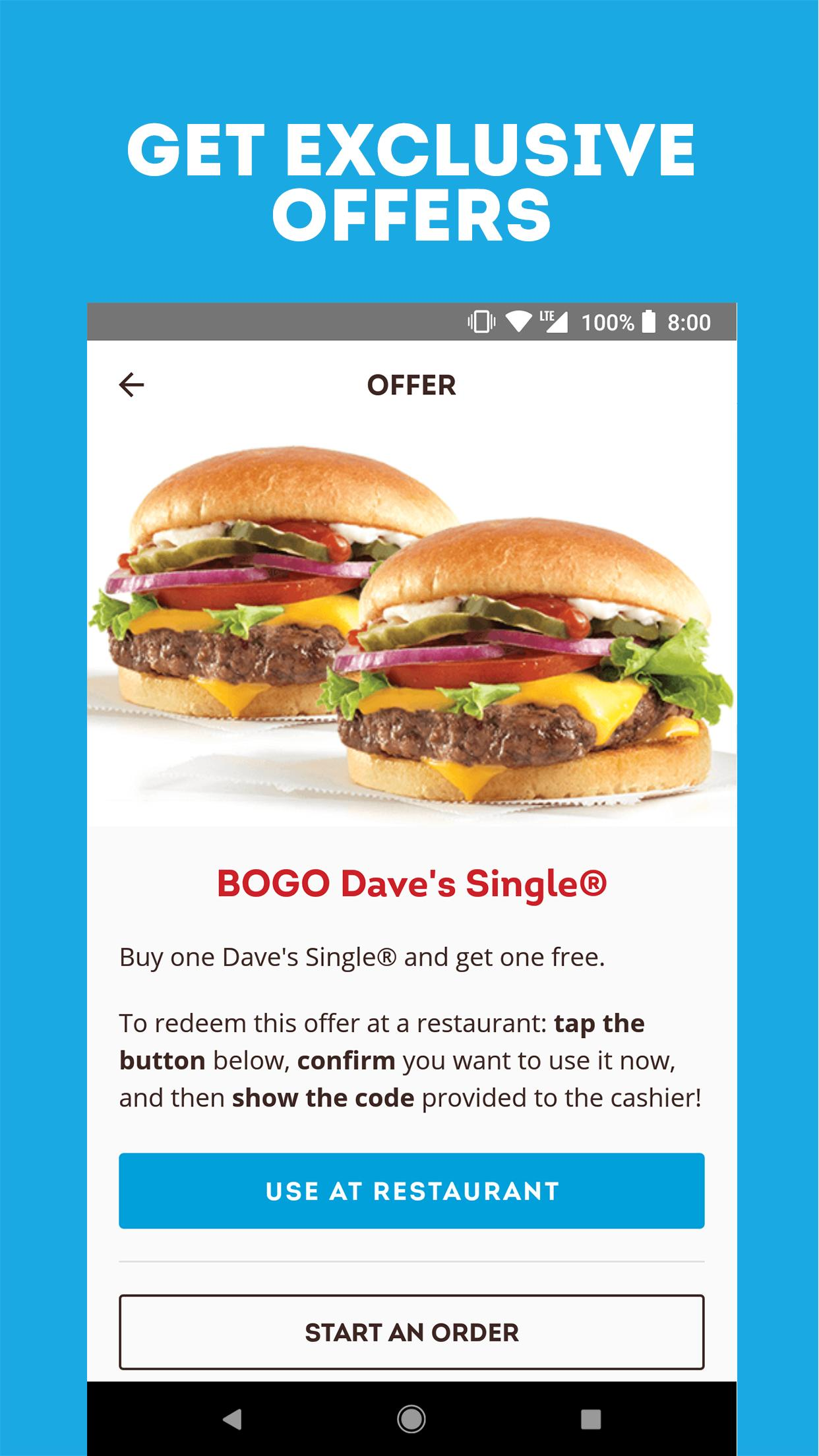 Wendy's – Food and Offers 6.3.3 Screenshot 1