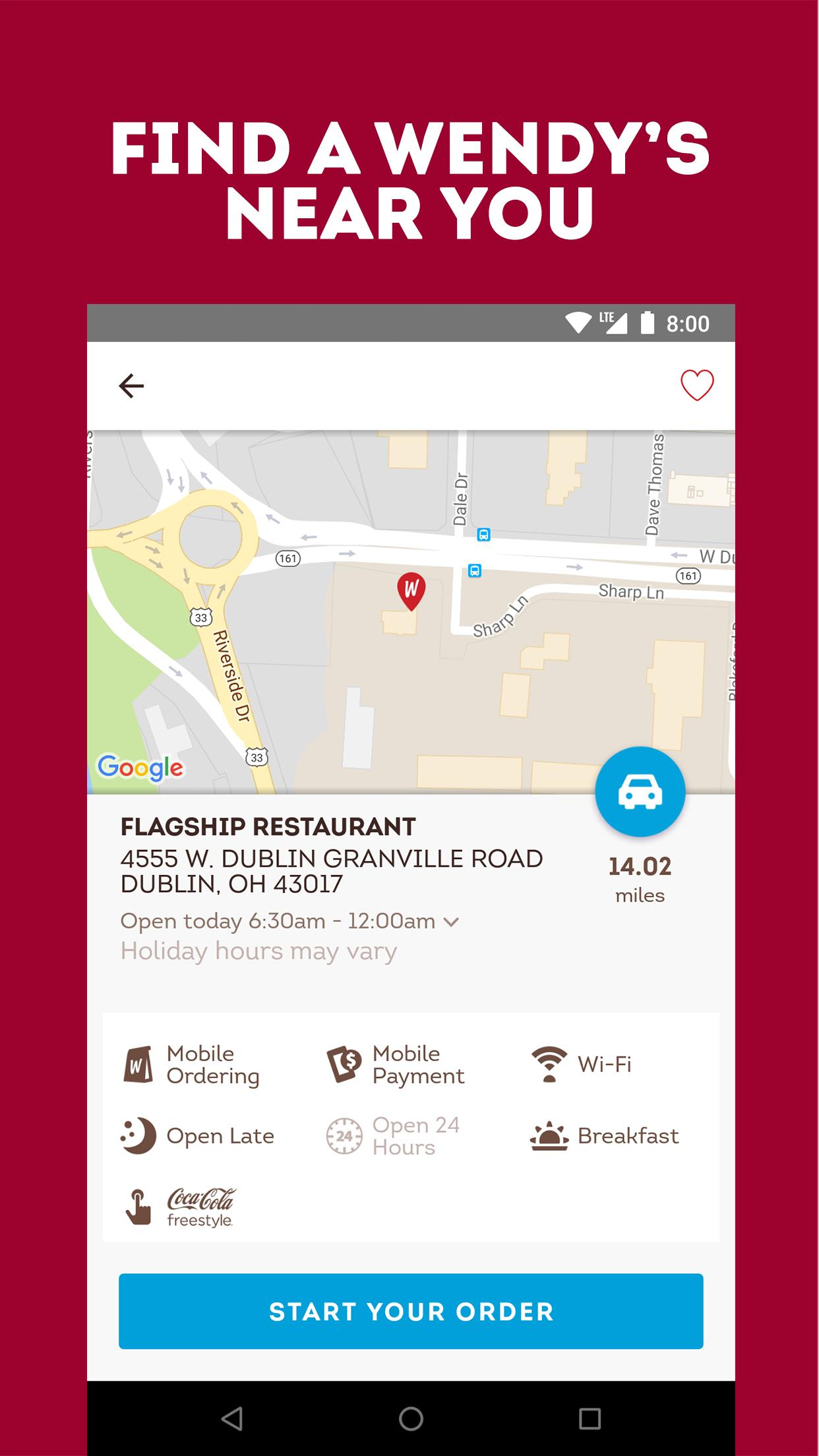 Wendy's – Food and Offers 6.3.3 Screenshot 3