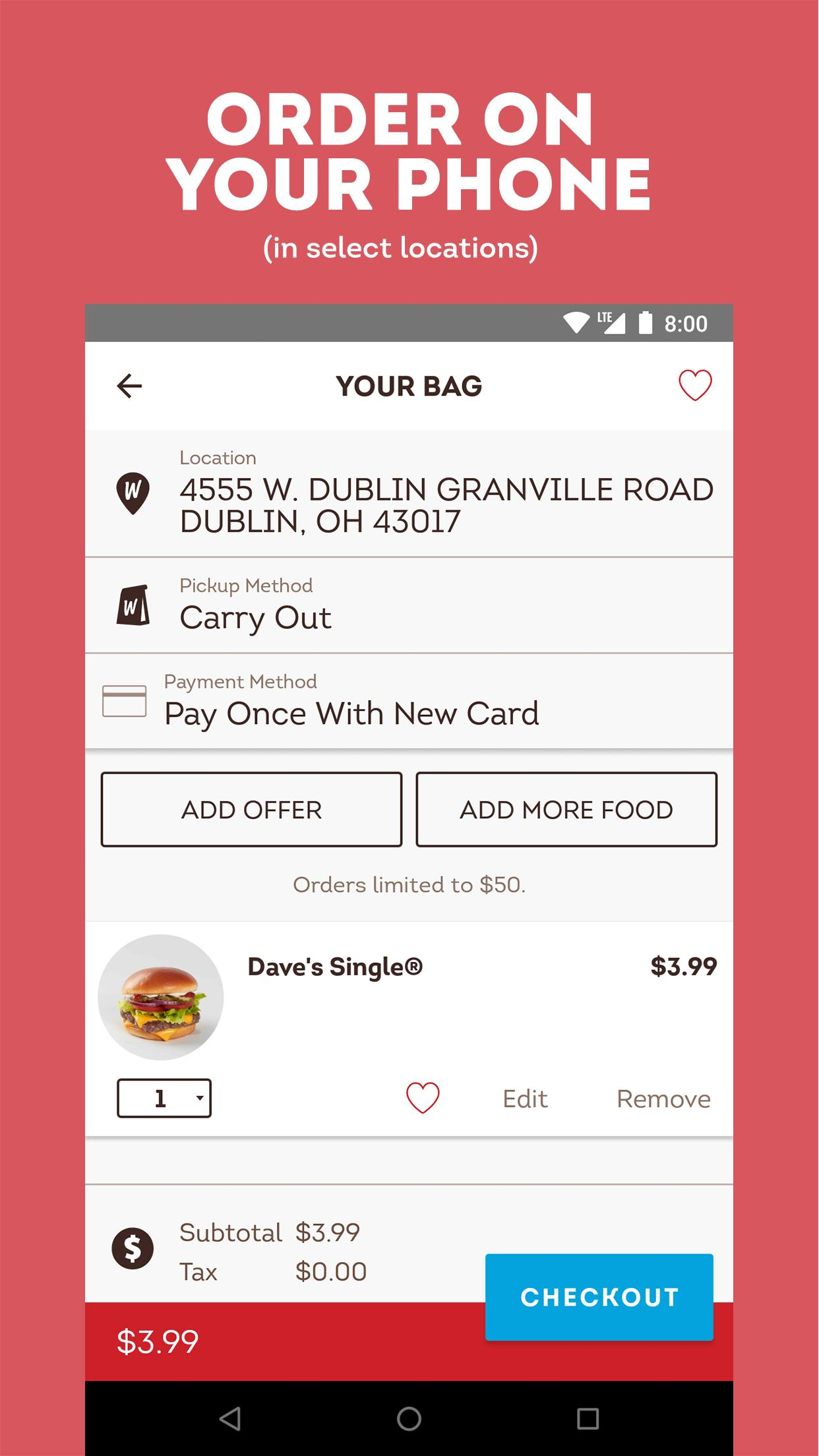 Wendy's – Food and Offers 6.3.3 Screenshot 4