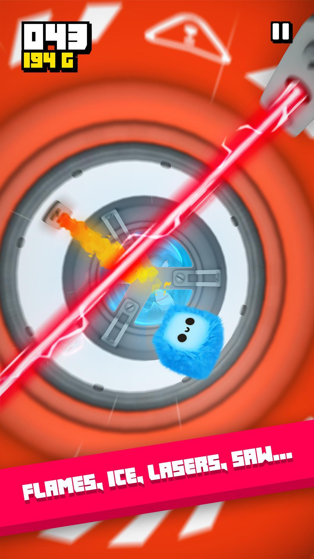 Fluffy Fall Fly Fast to Dodge the Danger 1.2.26 Screenshot 1