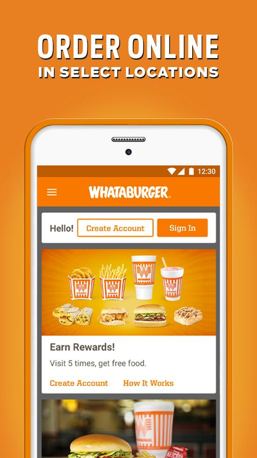 Whataburger 3.3.0 Screenshot 1