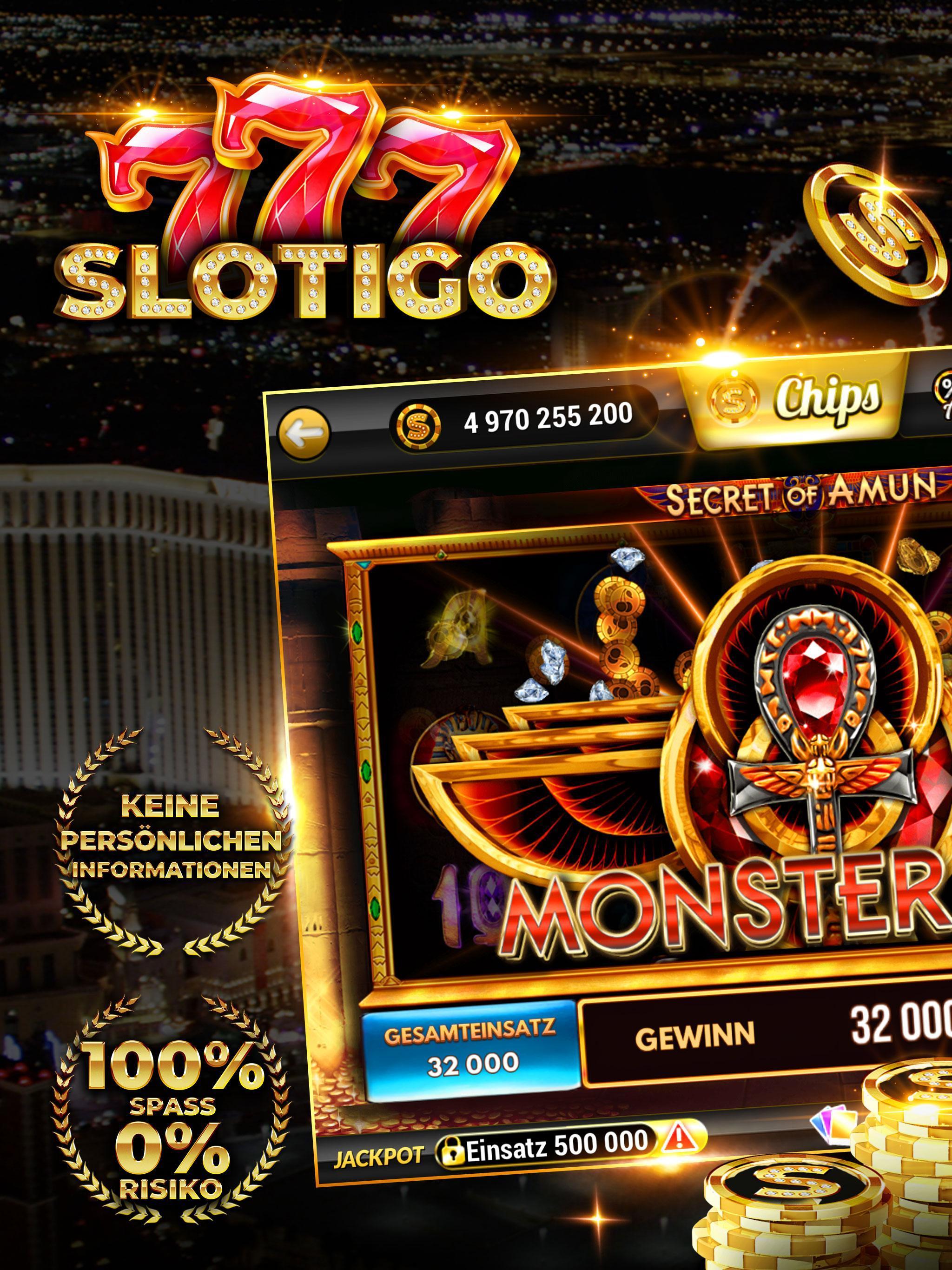 Slotigo Online-Casino, Spielautomaten & Jackpots 4.11.11 Screenshot 6