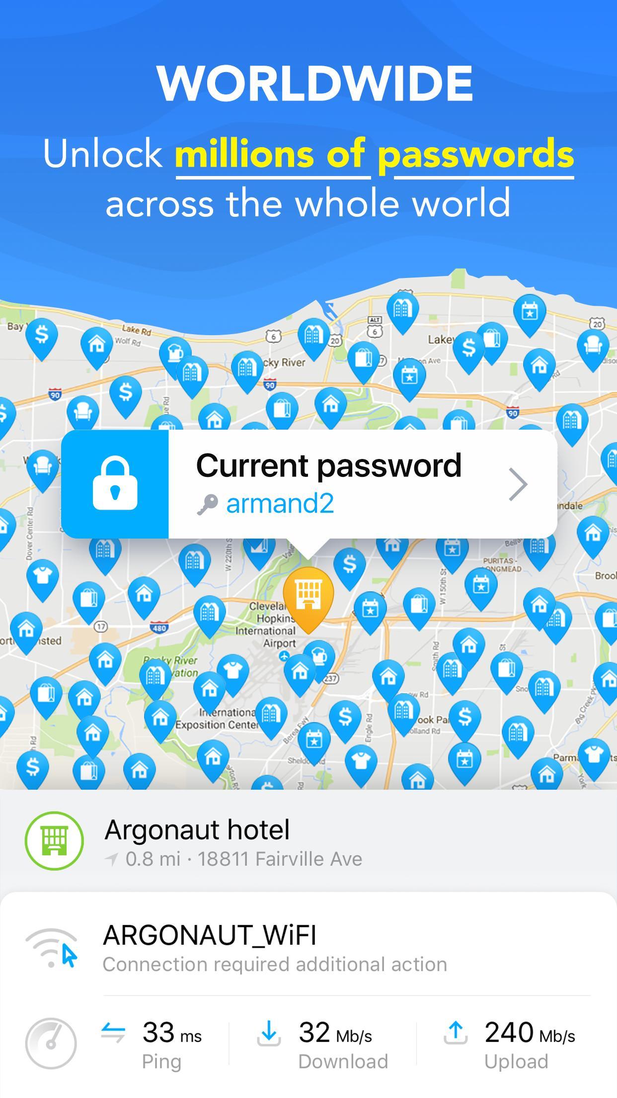 WiFi Map Get Free Internet Passwords & Hotspots 5.4.8 Screenshot 18