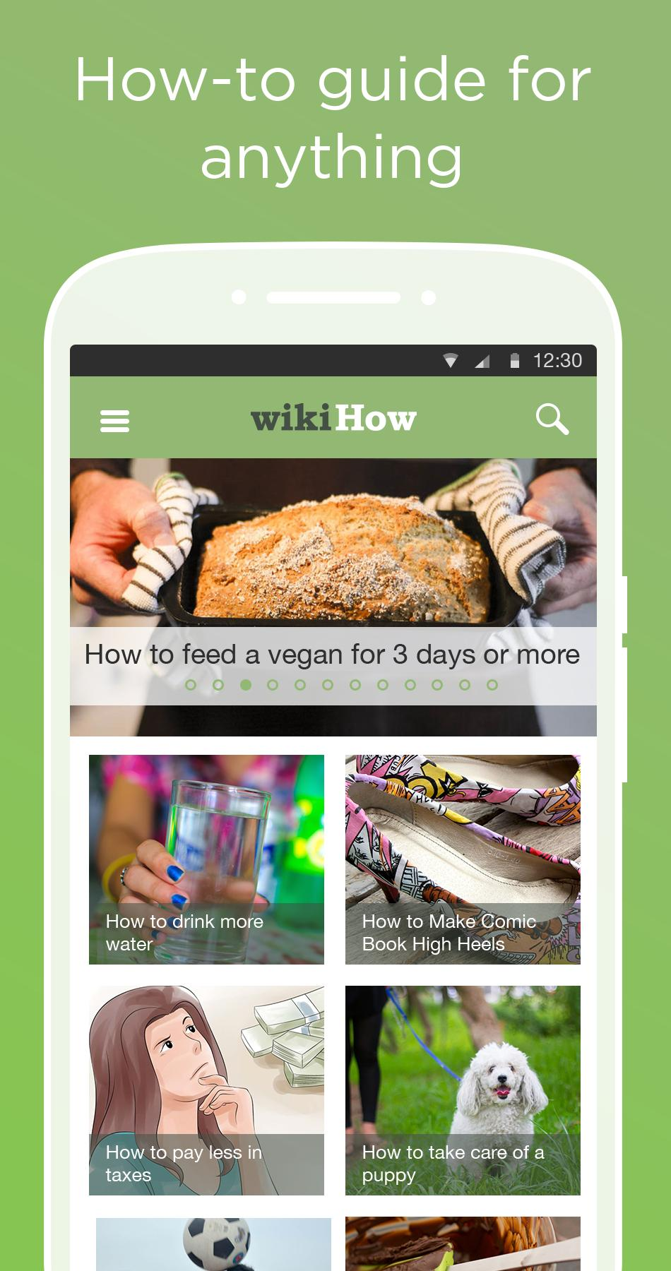 wikiHow how to do anything 2.8.3 Screenshot 1