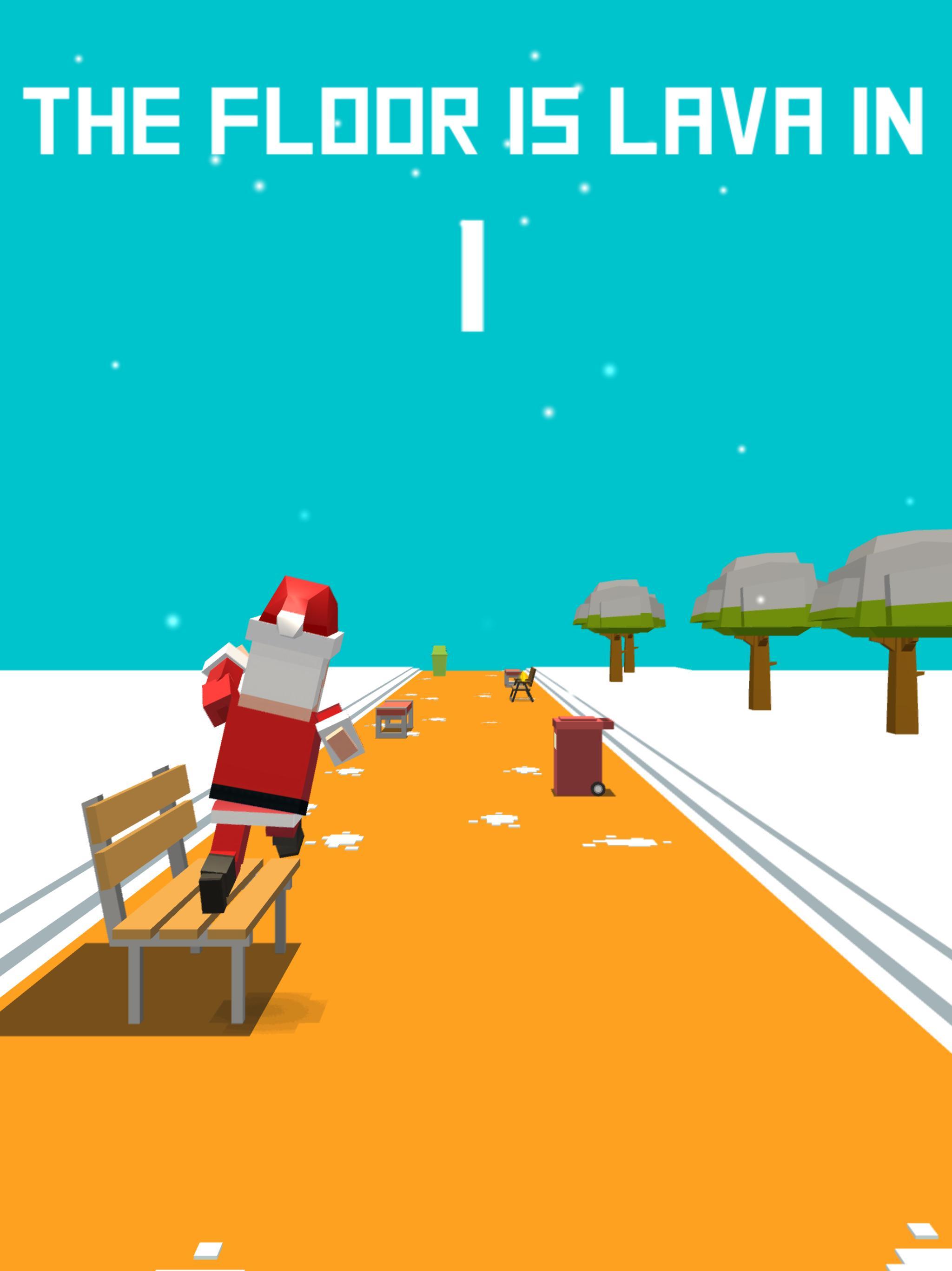 Xmas Floor is Lava Christmas holiday fun 2.6 Screenshot 15