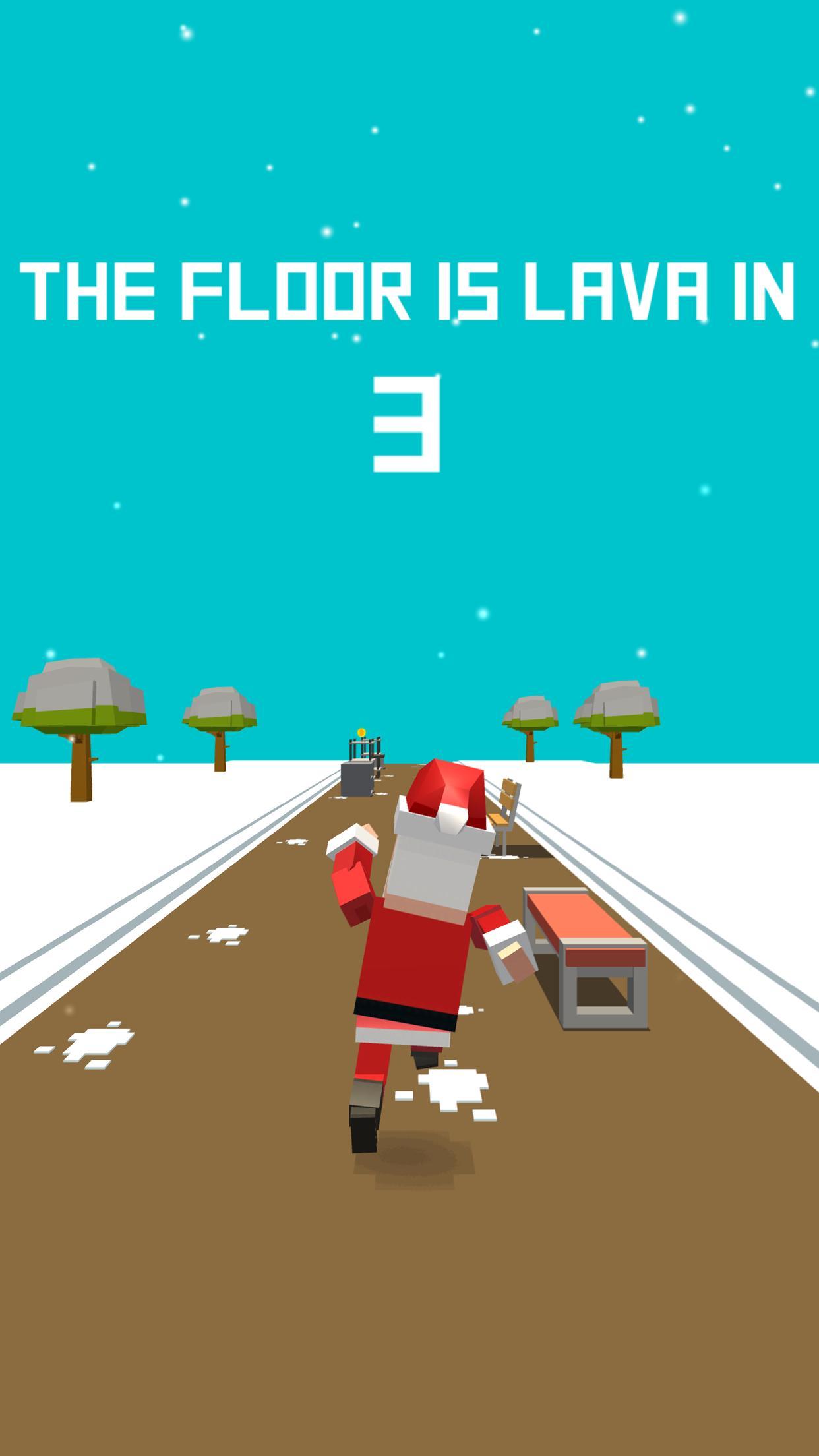 Xmas Floor is Lava Christmas holiday fun 2.6 Screenshot 3