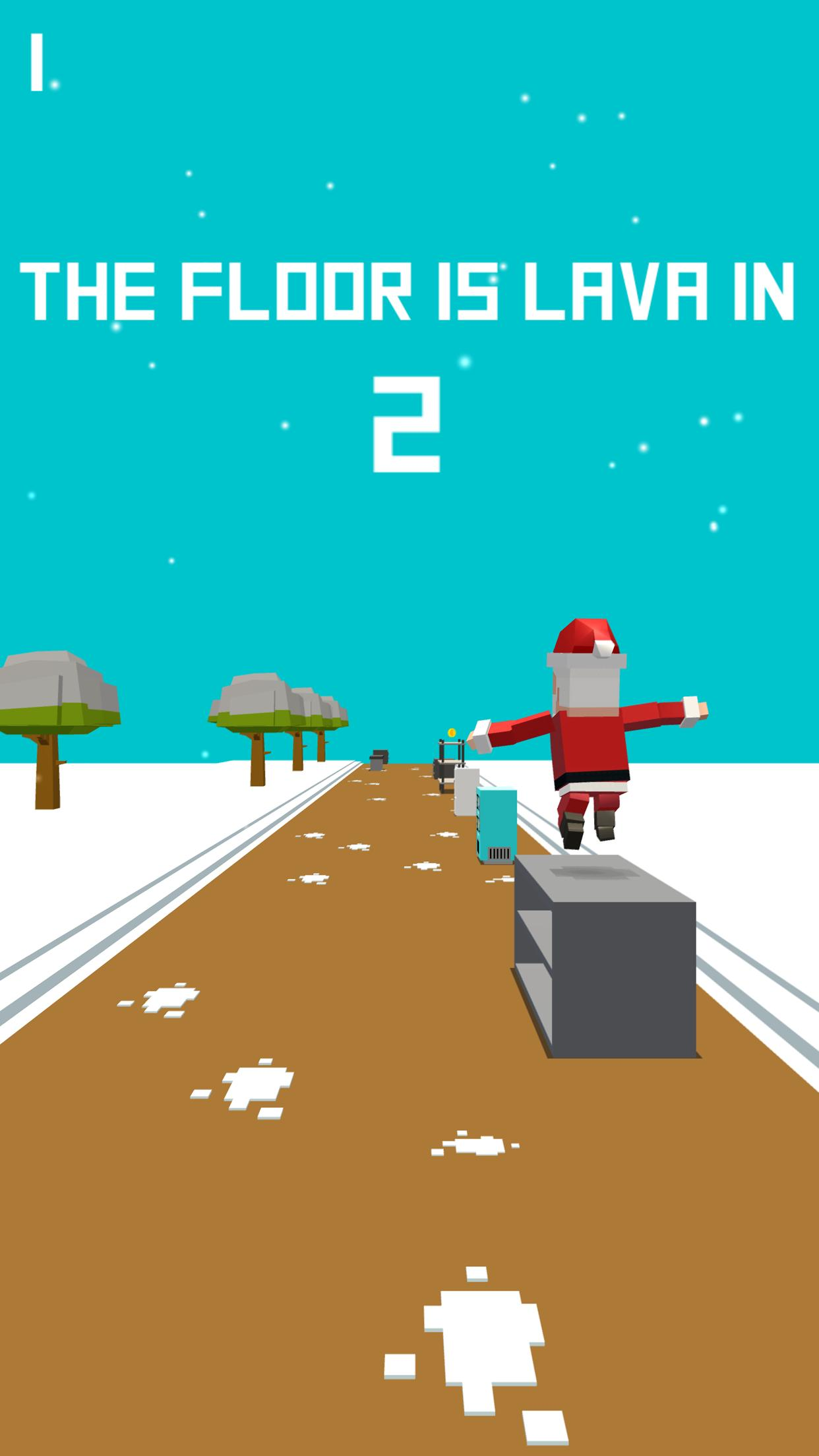 Xmas Floor is Lava Christmas holiday fun 2.6 Screenshot 4