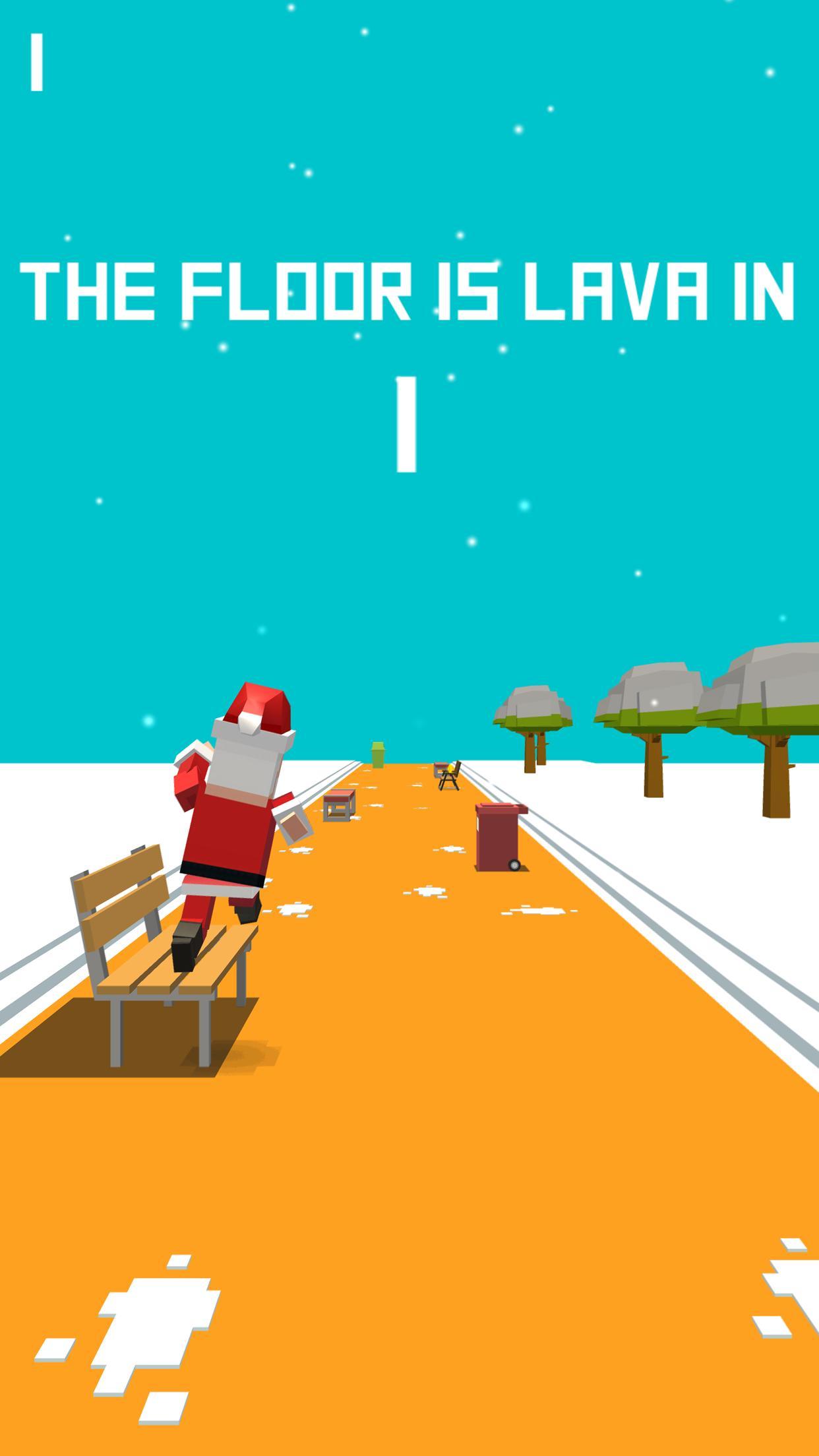 Xmas Floor is Lava Christmas holiday fun 2.6 Screenshot 5