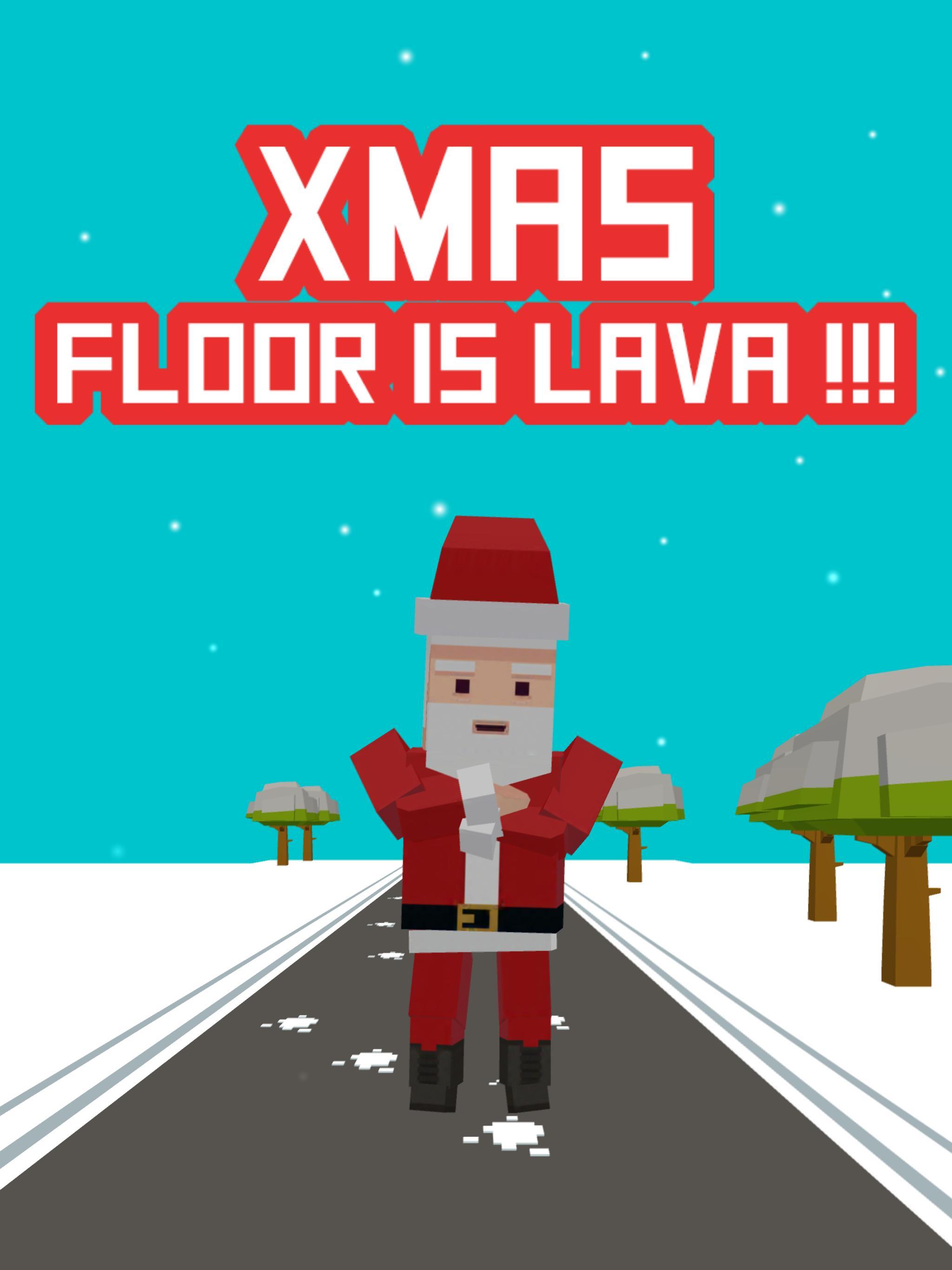 Xmas Floor is Lava Christmas holiday fun 2.6 Screenshot 6