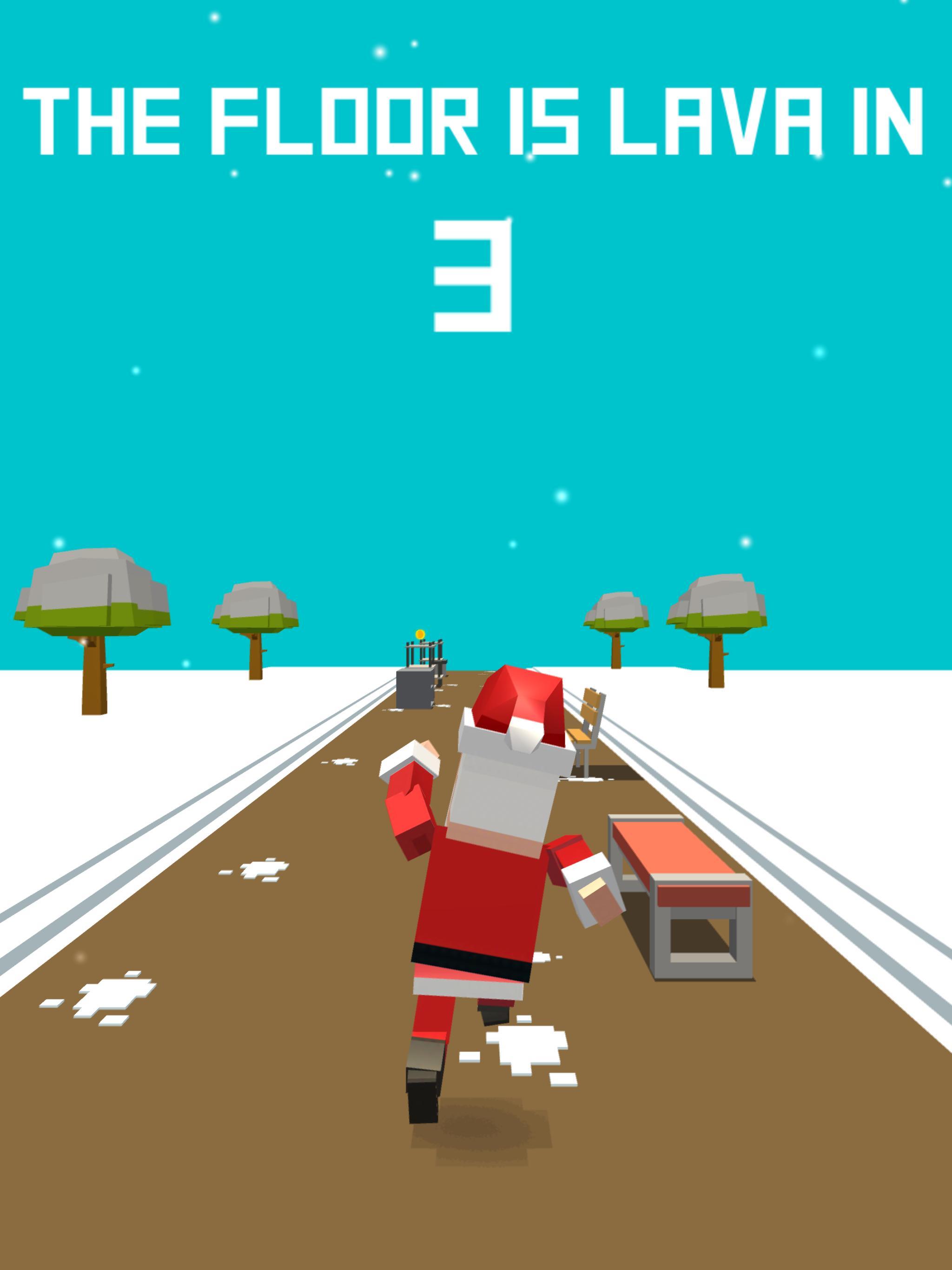 Xmas Floor is Lava Christmas holiday fun 2.6 Screenshot 8