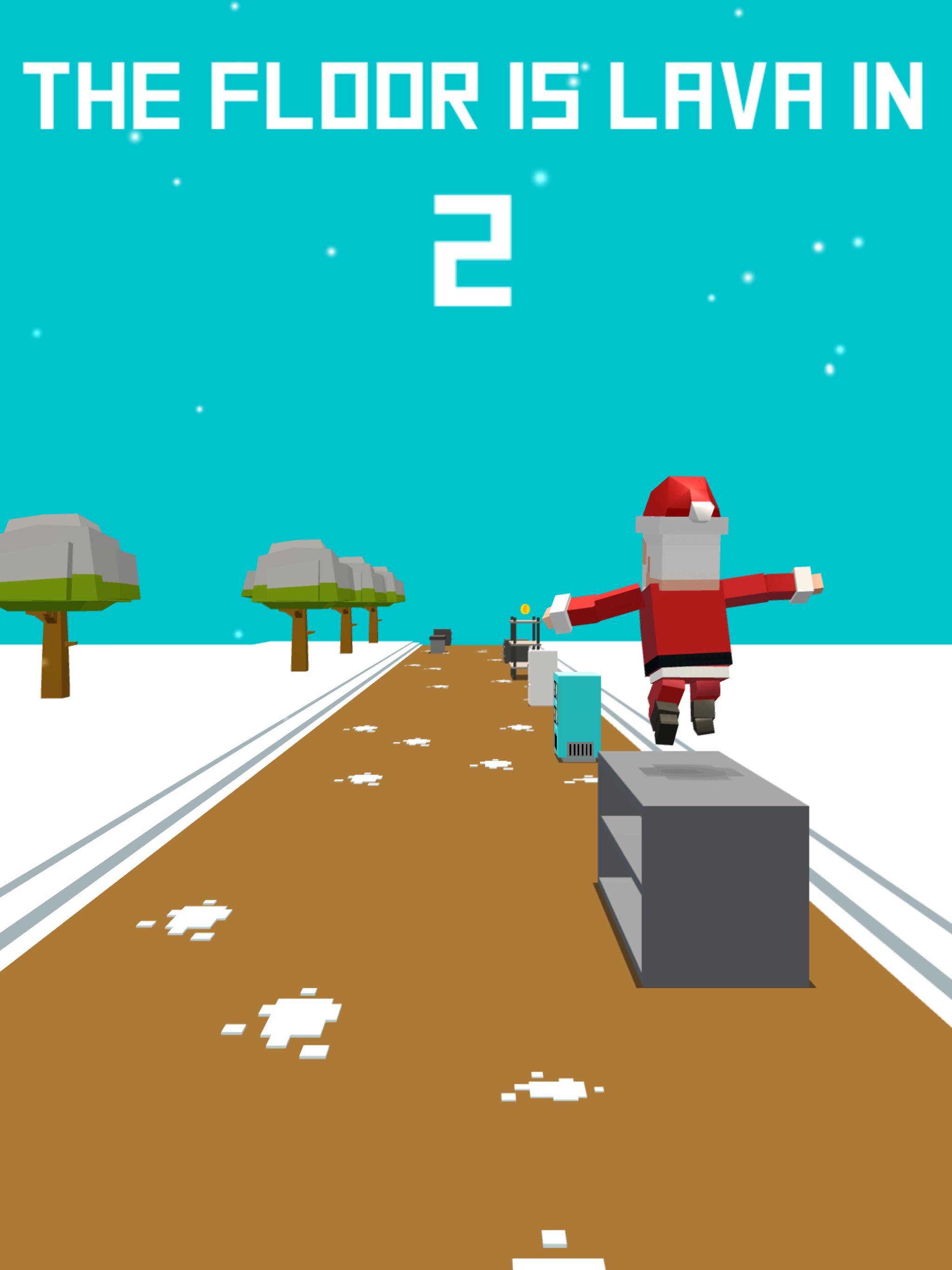 Xmas Floor is Lava Christmas holiday fun 2.6 Screenshot 9