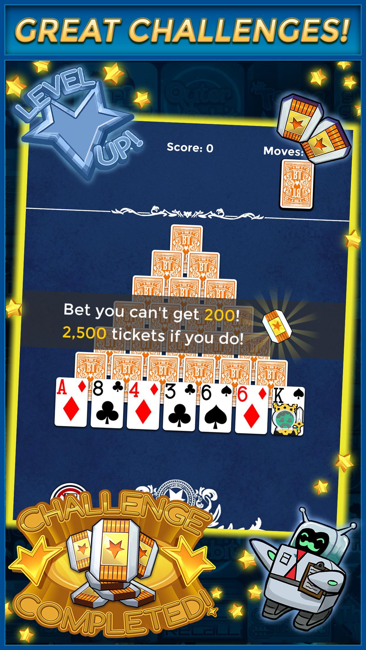 Pyramid Solitaire Make Money Free 1.1.6 Screenshot 4