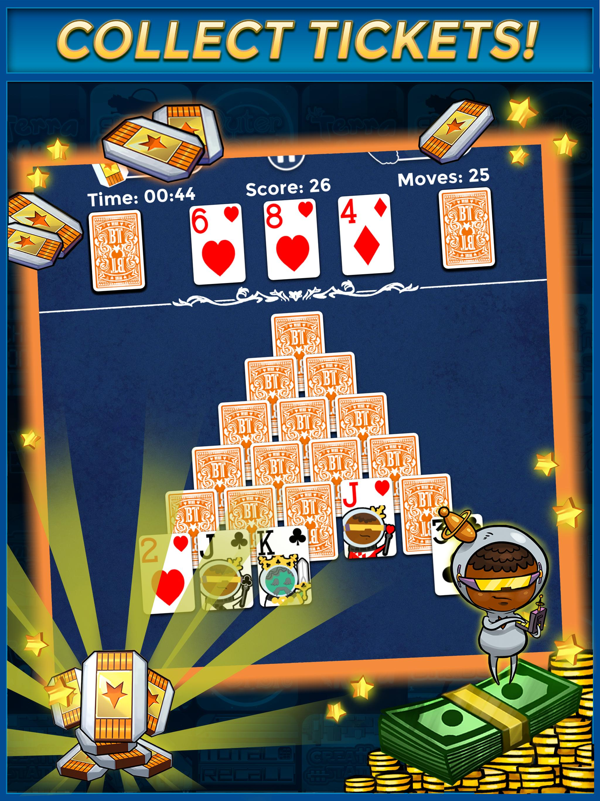 Pyramid Solitaire Make Money Free 1.1.6 Screenshot 7