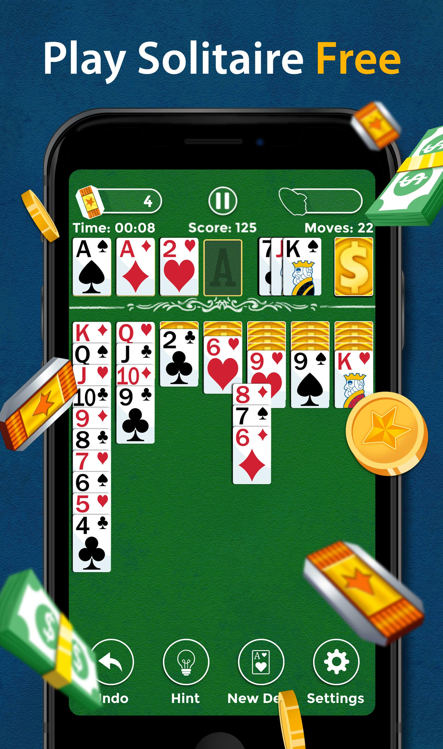 Solitaire Make Free Money and Play the Card Game 1.8.5 Screenshot 1