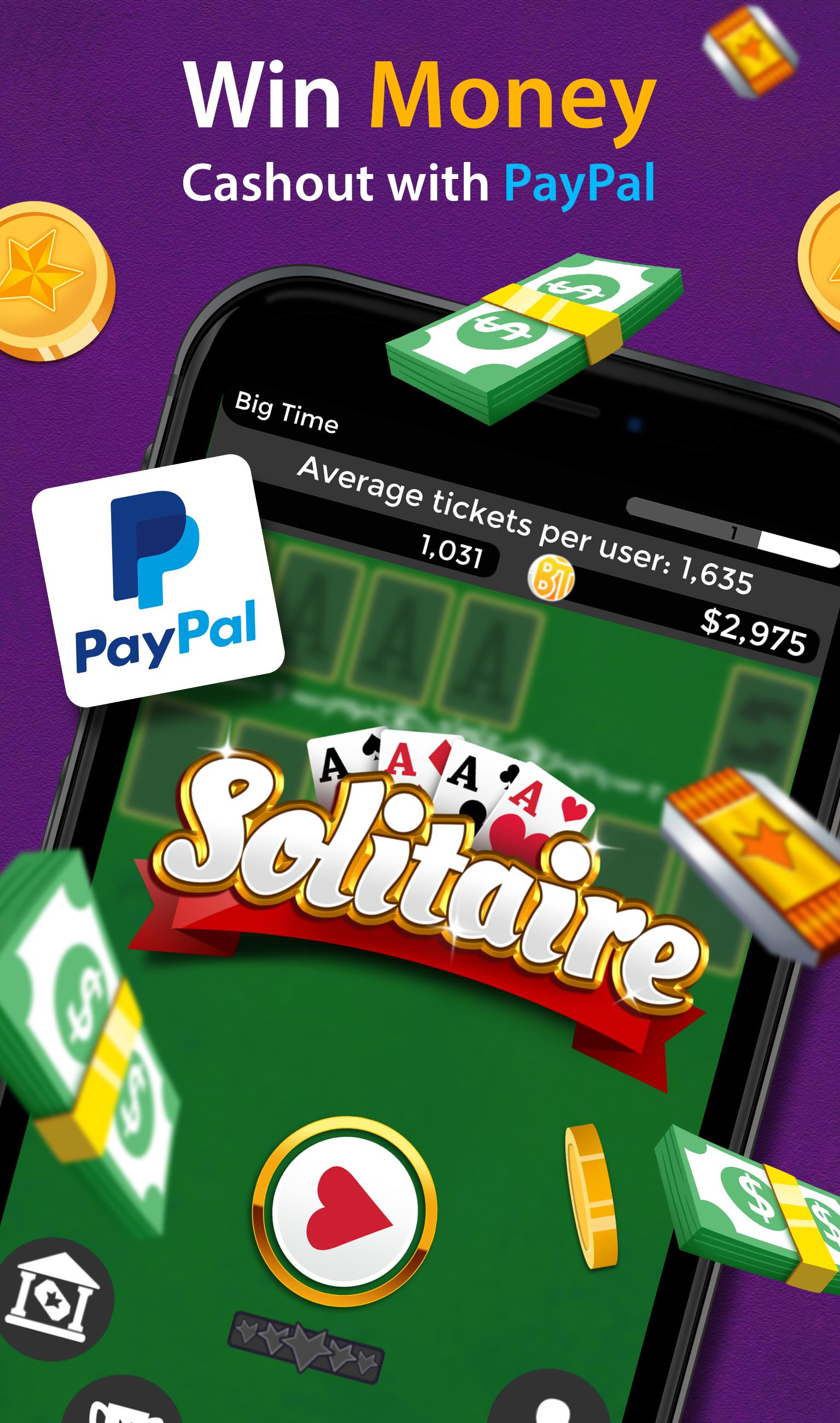 Solitaire Make Free Money and Play the Card Game 1.8.5 Screenshot 2