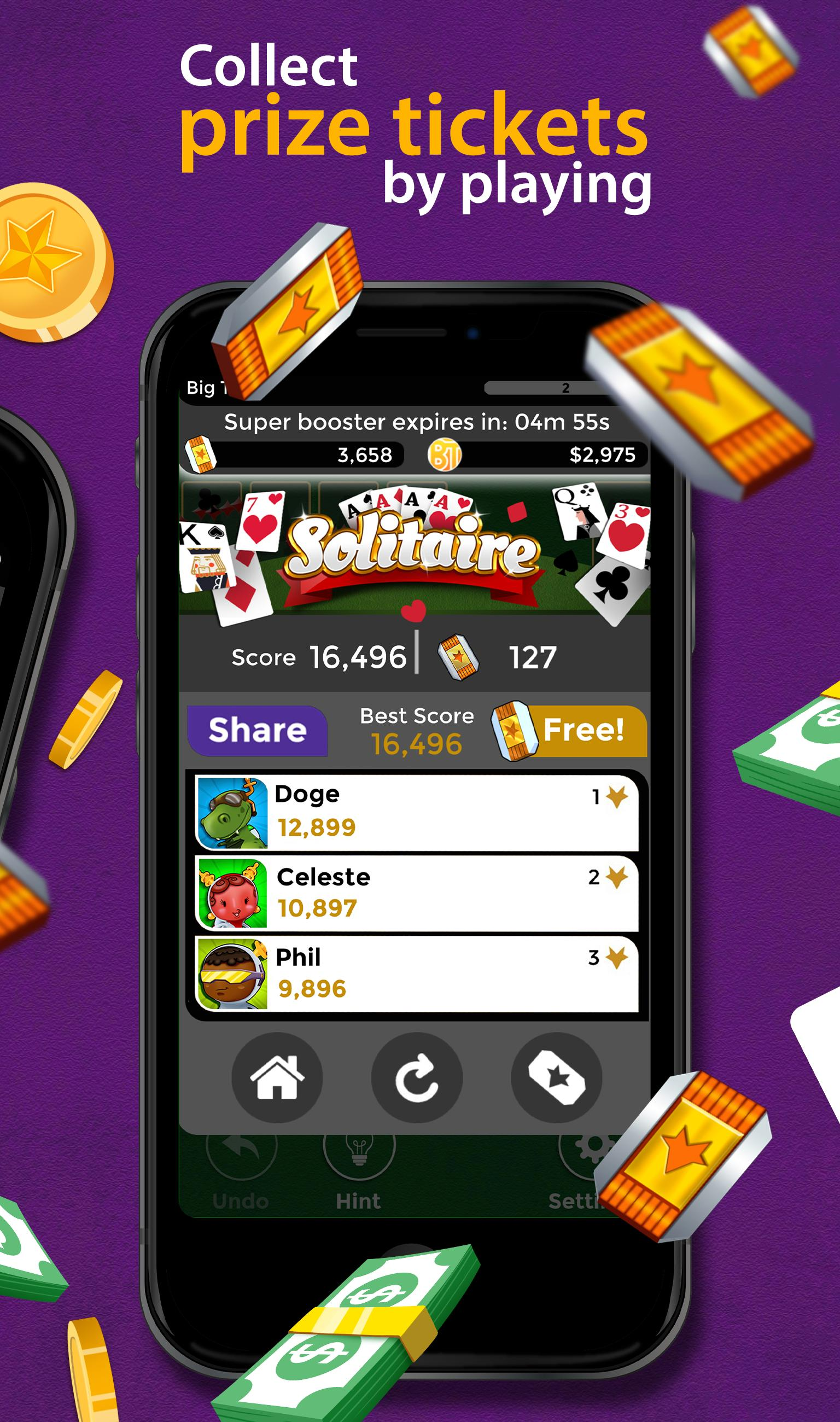 Solitaire Make Free Money and Play the Card Game 1.8.5 Screenshot 3