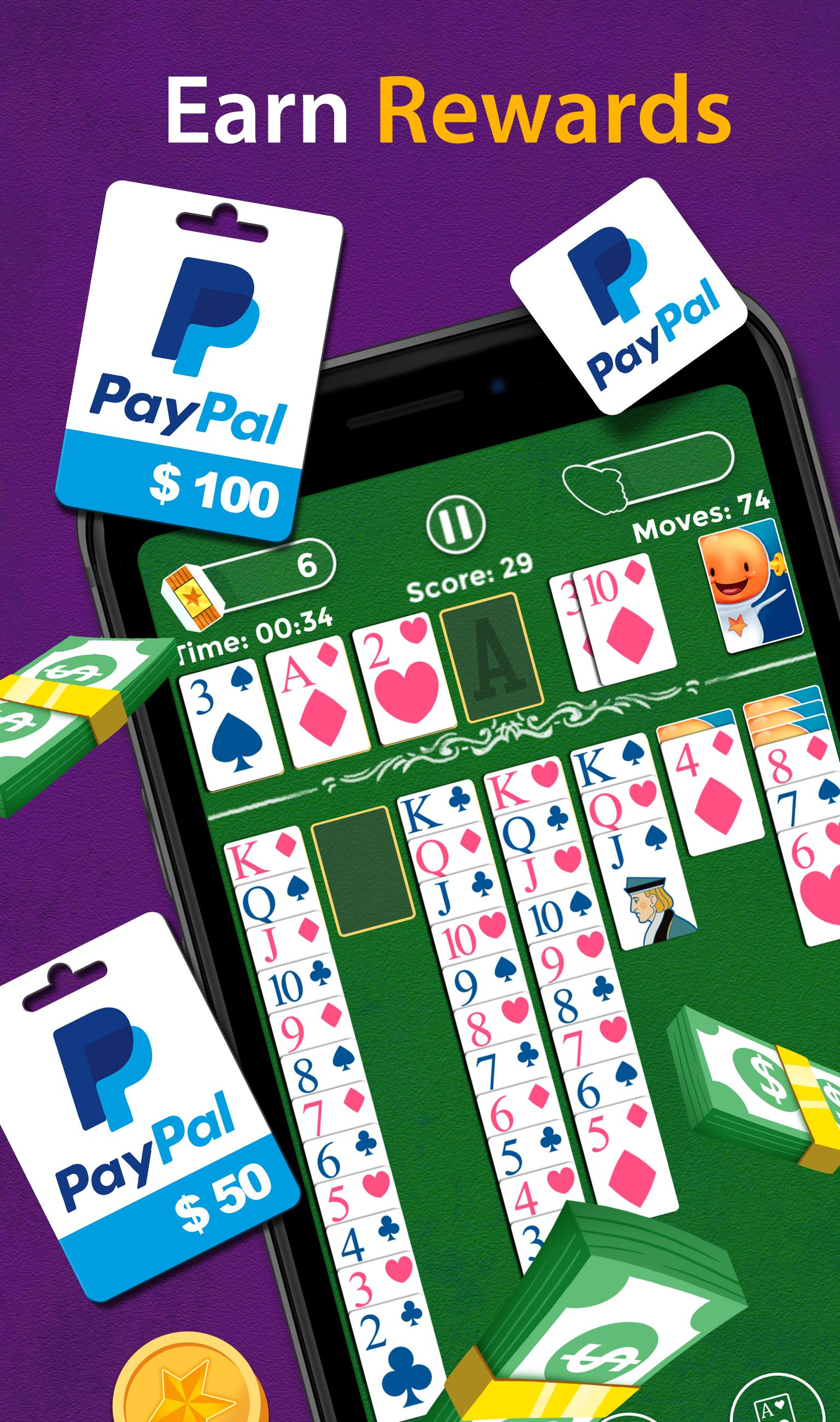 Solitaire Make Free Money and Play the Card Game 1.8.5 Screenshot 4