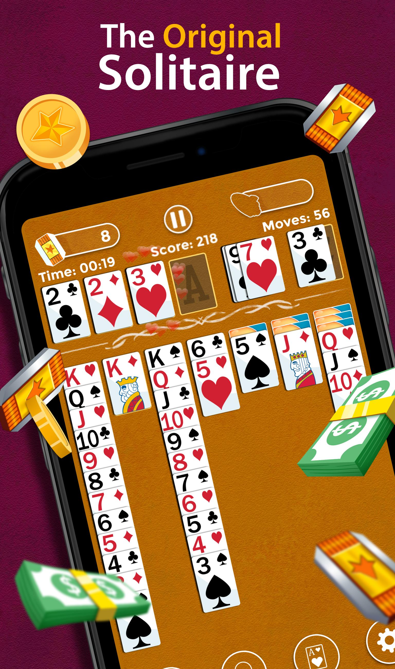 Solitaire Make Free Money and Play the Card Game 1.8.5 Screenshot 6