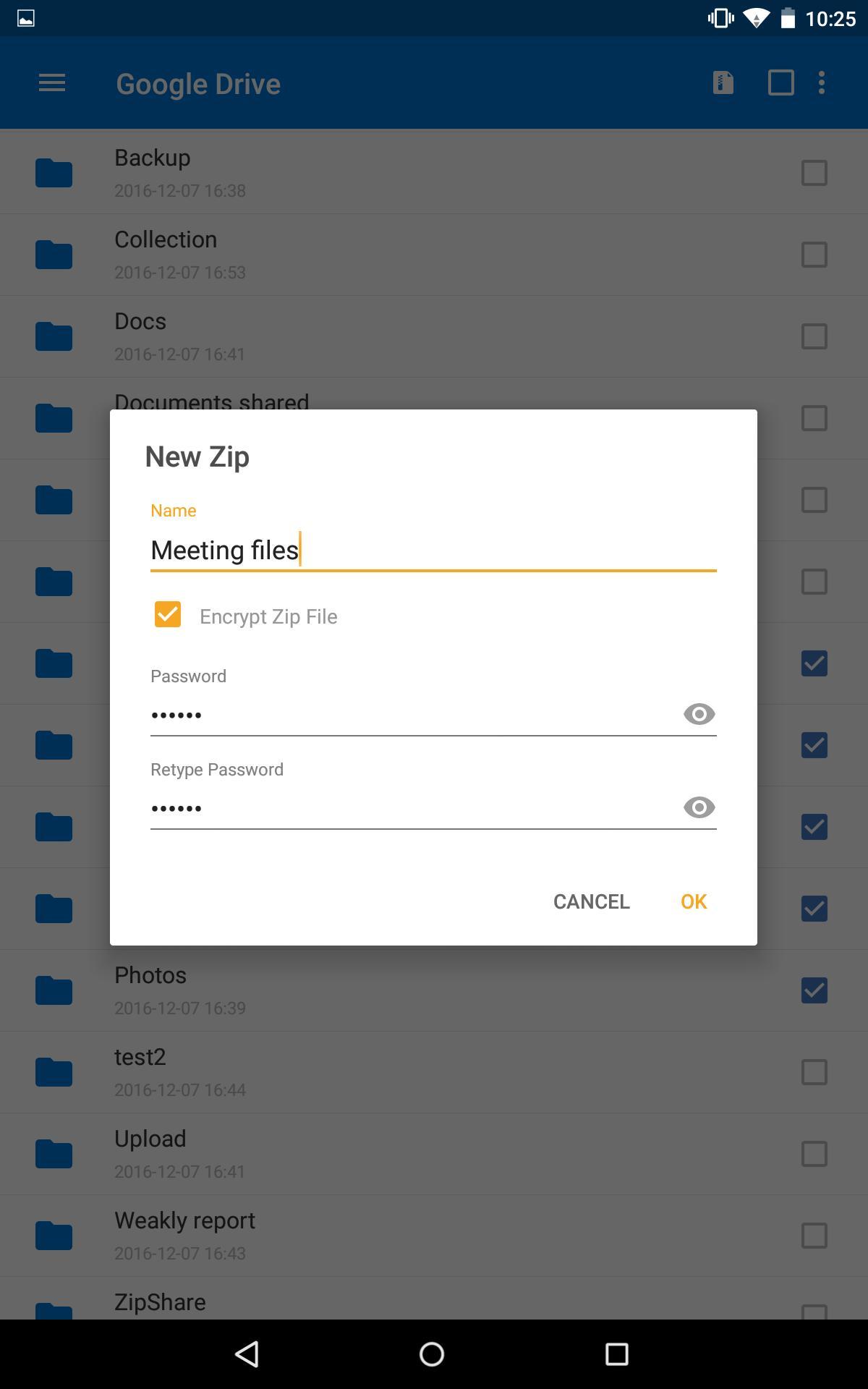 WinZip – Zip UnZip Tool 5.1.3 Screenshot 14