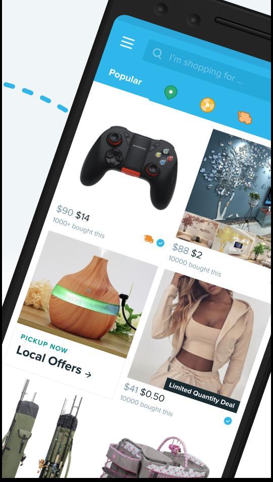 Wish Shopping Made Fun 4.44.6 Screenshot 1