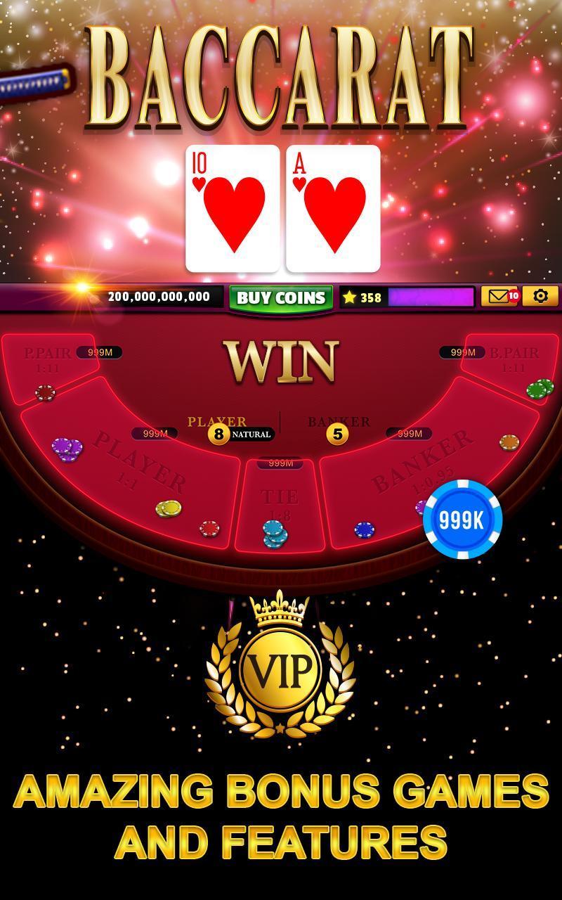 Good Fortune Casino - Slots machines & Baccarat 14.0.11 Screenshot 5