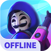 Heroes Strike Offline MOBA & Battle Royale app icon