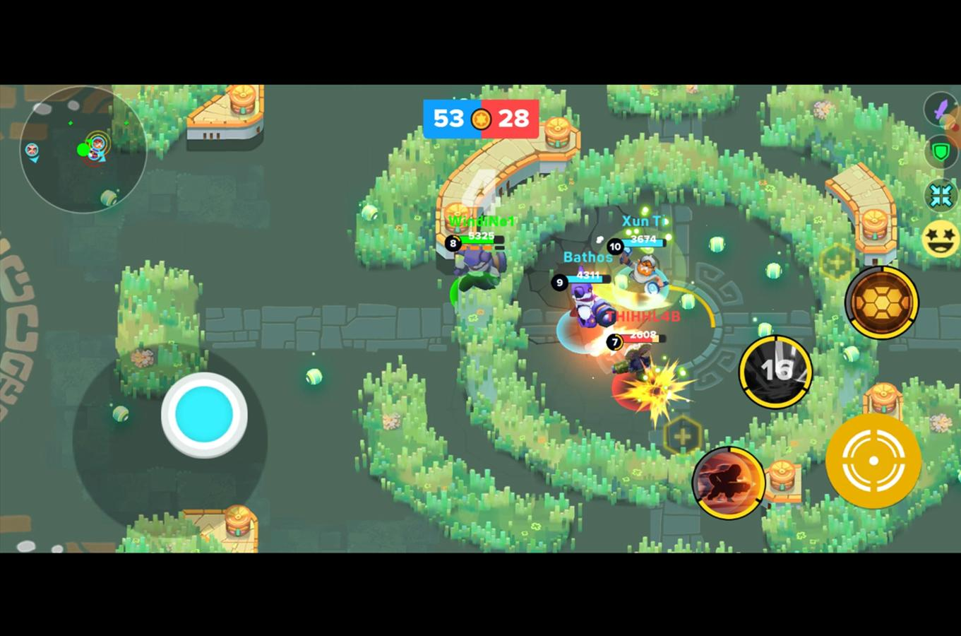 Heroes Strike Offline MOBA & Battle Royale 49 Screenshot 5