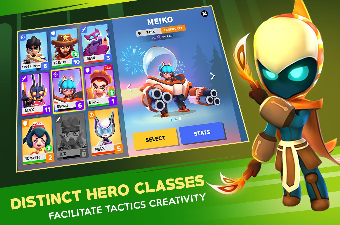 Heroes Strike Offline MOBA & Battle Royale 49 Screenshot 8