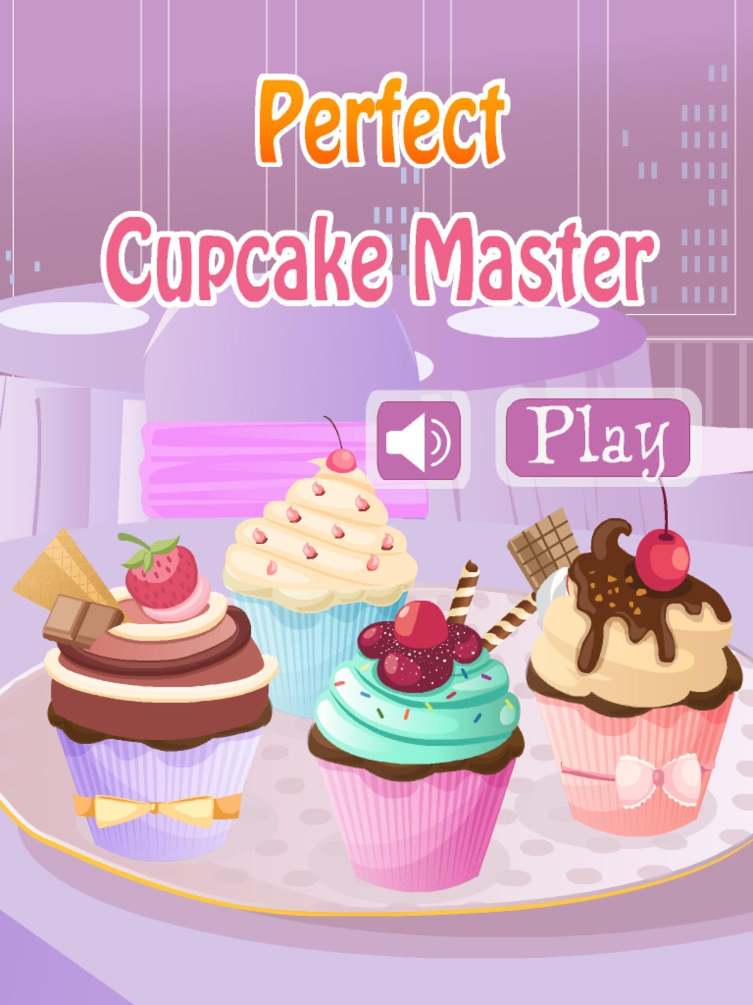 Perfect Cupcake Master 1.0.2 Screenshot 1