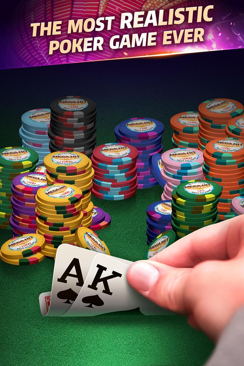 Mega Hit Poker Texas Holdem massive tournament 3.10.6 Screenshot 1