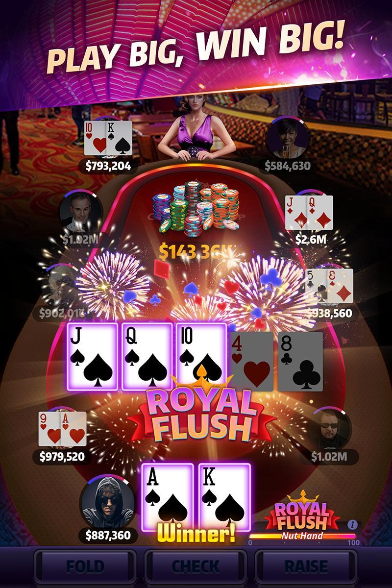 Mega Hit Poker Texas Holdem massive tournament 3.10.6 Screenshot 2
