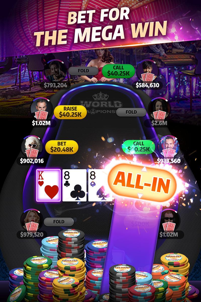 Mega Hit Poker Texas Holdem massive tournament 3.10.6 Screenshot 3