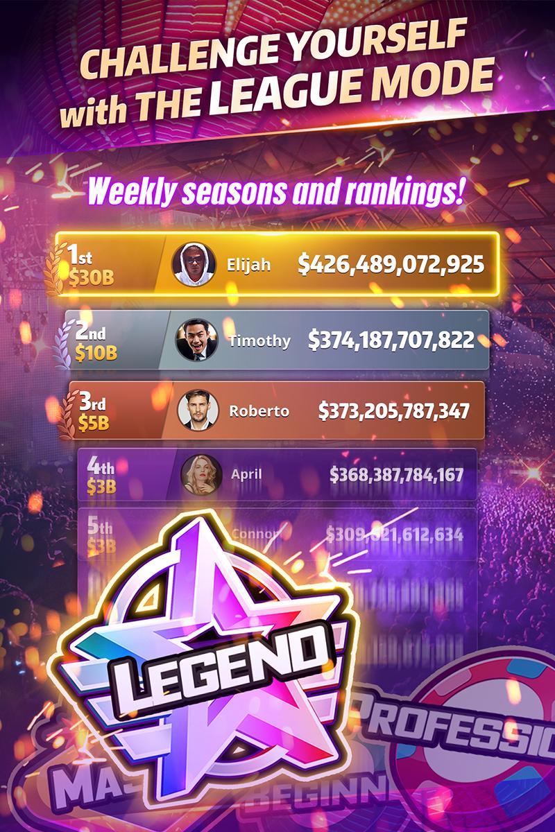 Mega Hit Poker Texas Holdem massive tournament 3.10.6 Screenshot 5