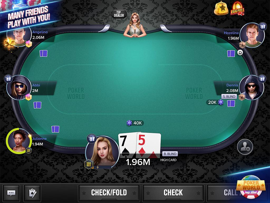 Poker World Mega Billions 2.052.2.052 Screenshot 1