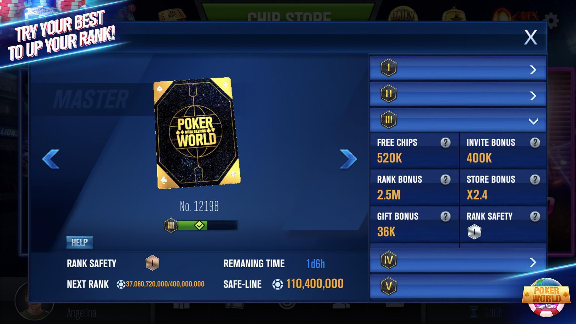 Poker World Mega Billions 2.052.2.052 Screenshot 10