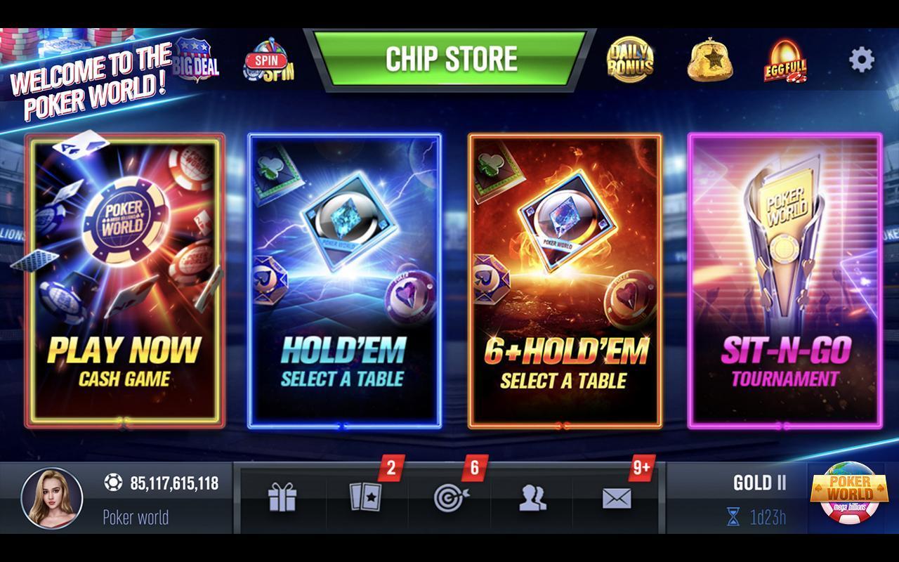 Poker World Mega Billions 2.052.2.052 Screenshot 12