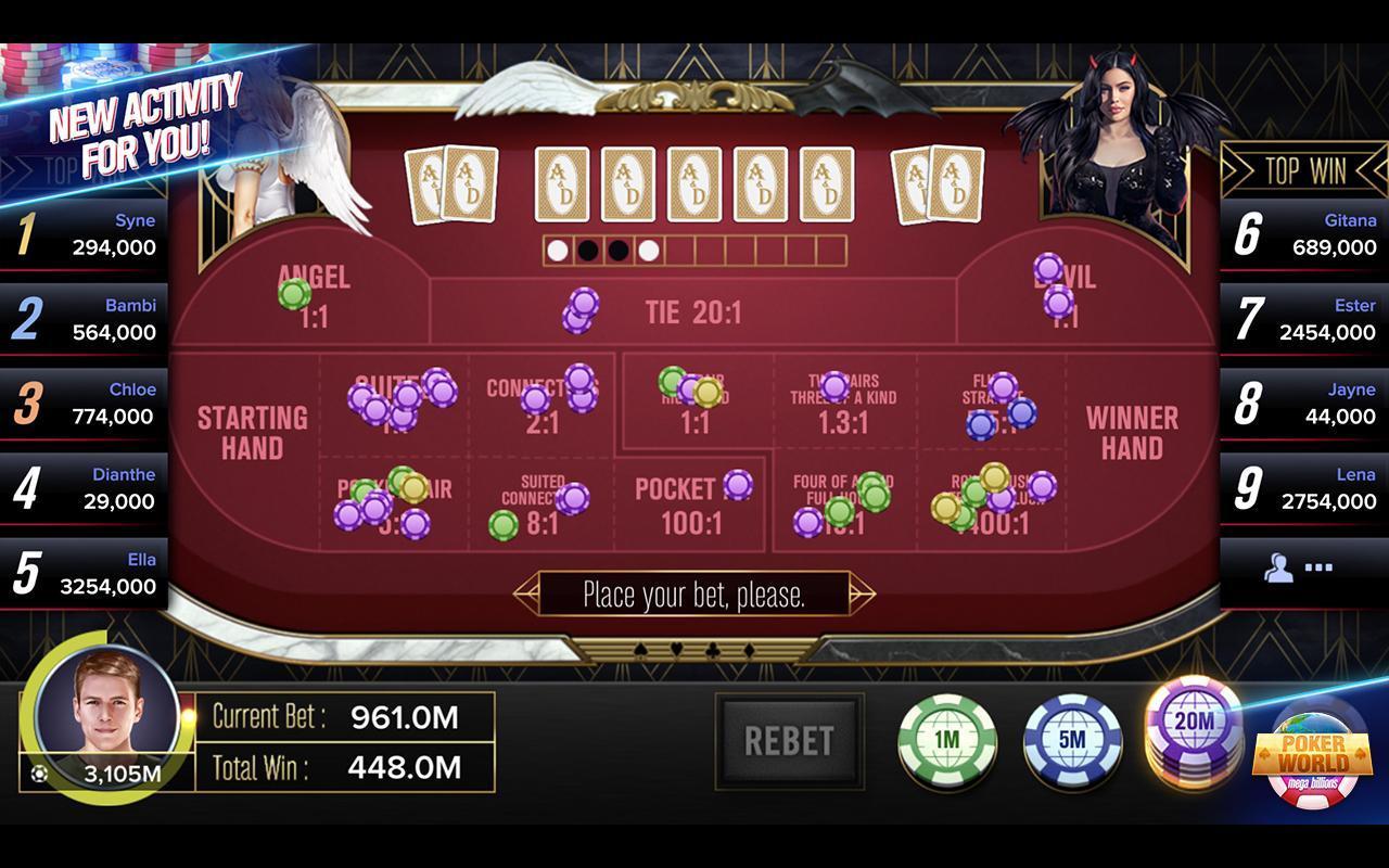 Poker World Mega Billions 2.052.2.052 Screenshot 13