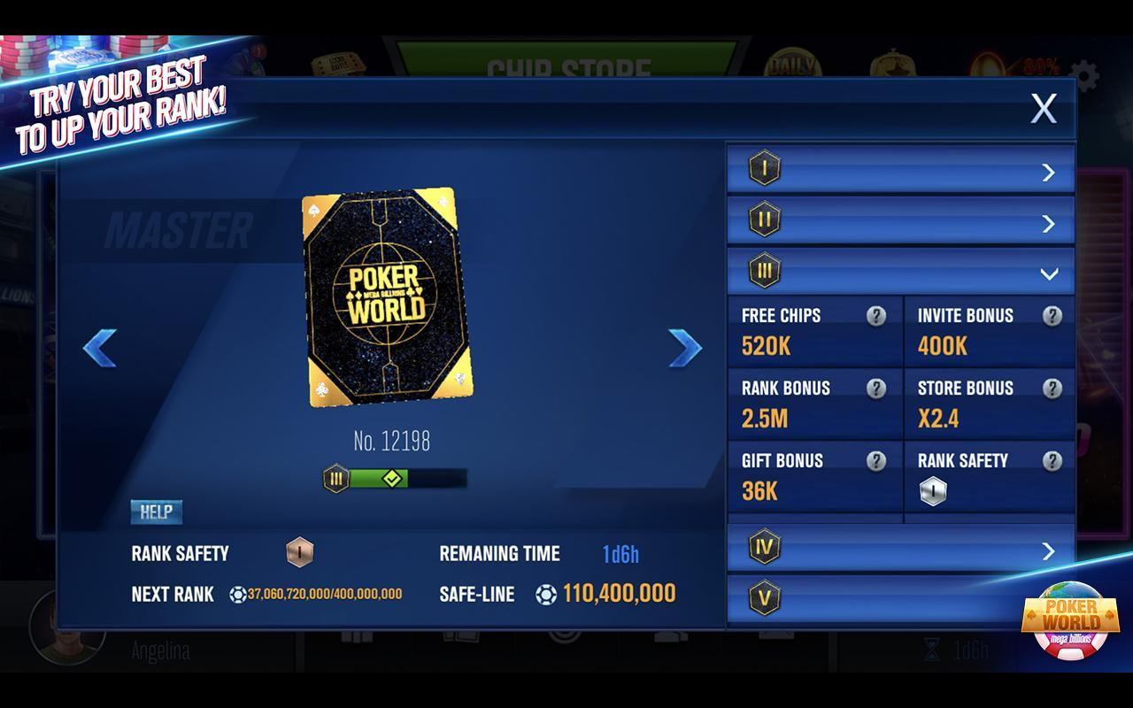 Poker World Mega Billions 2.052.2.052 Screenshot 15